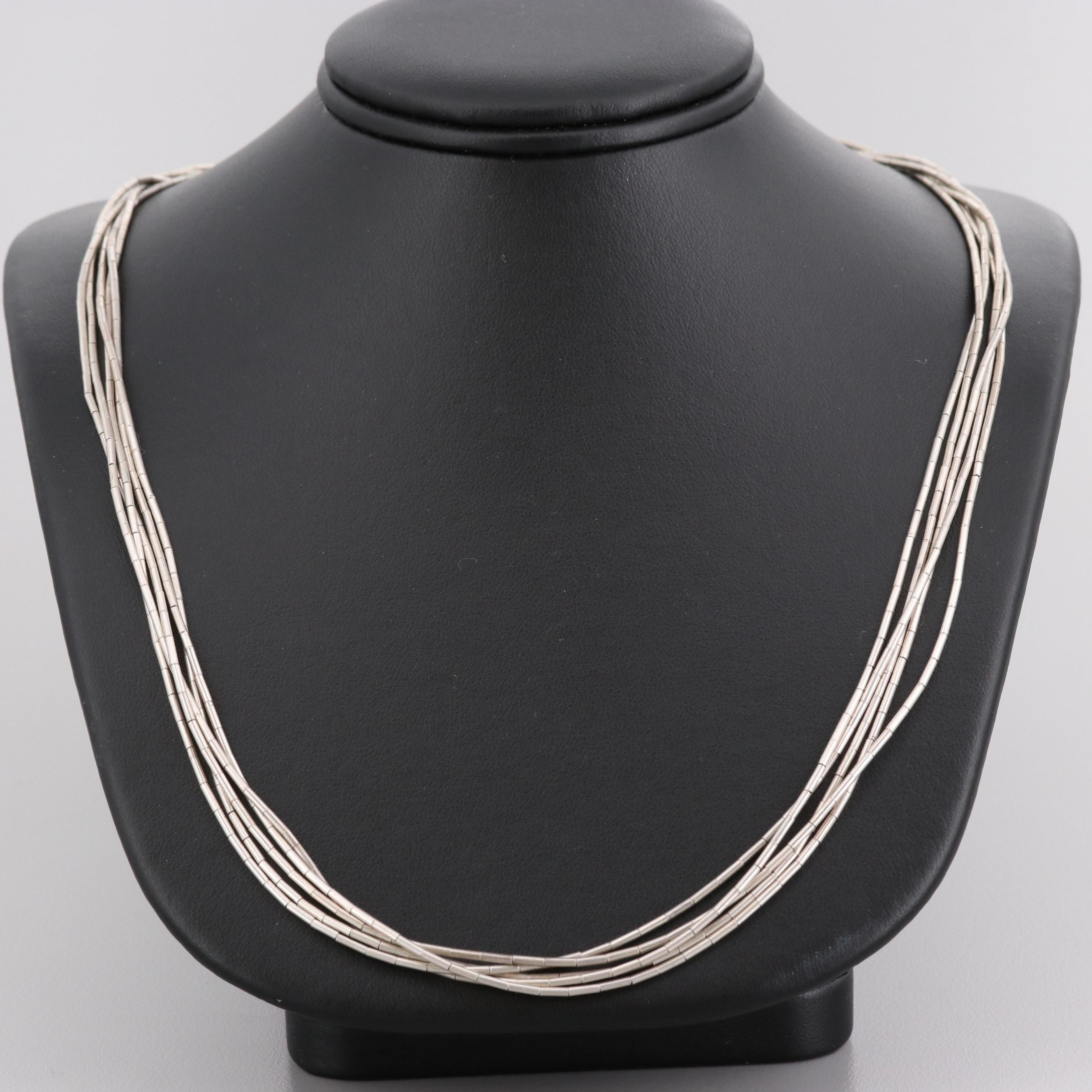 Liquid Sterling Silver Necklace