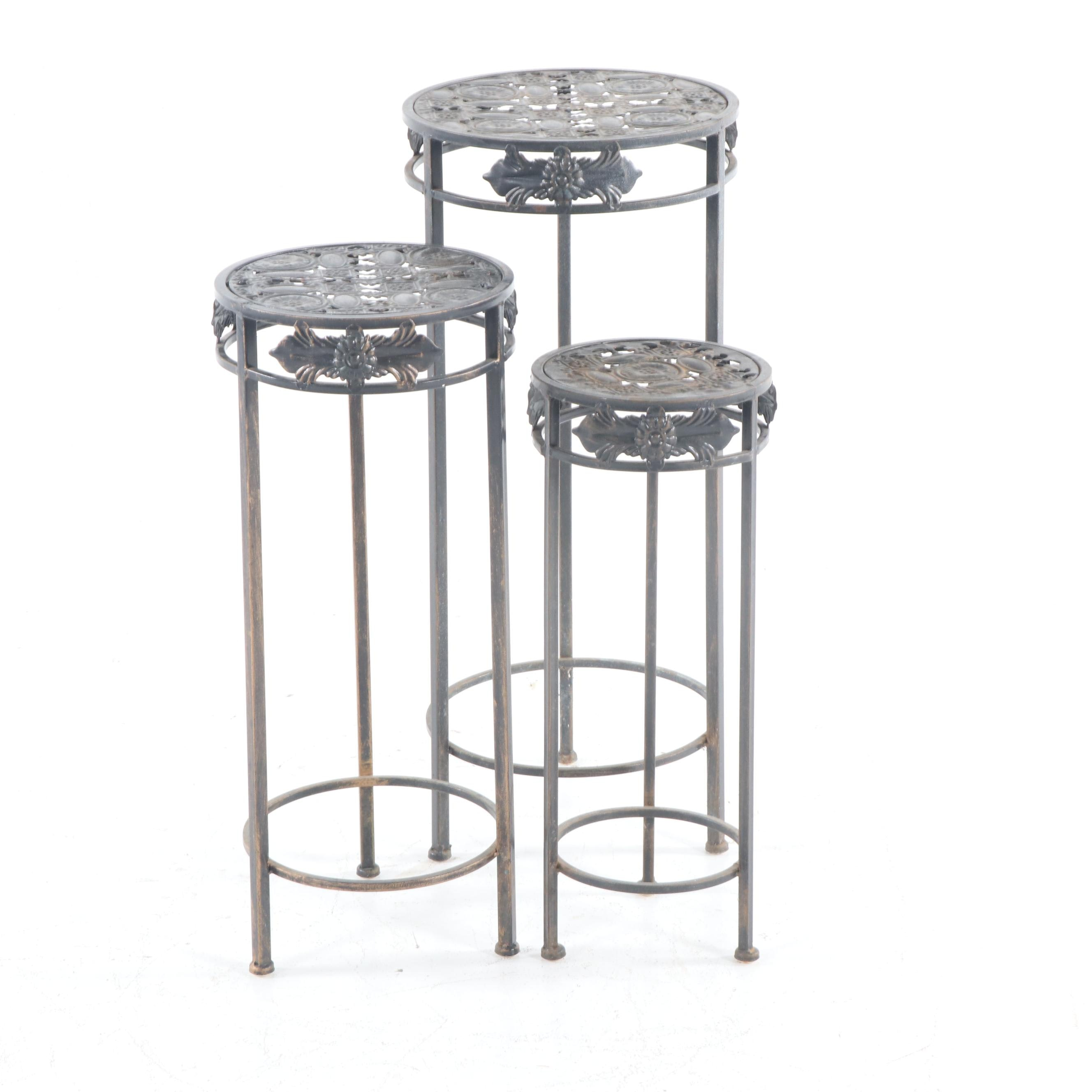 Metal Nesting Tables, Late 20th Century