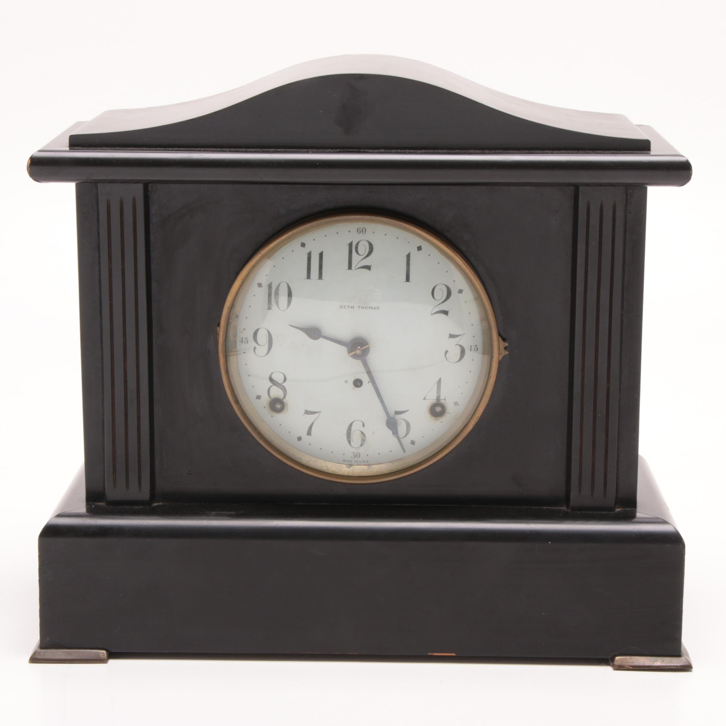 "Seth Thomas ""Belmont"" Mantel Clock, Early 20th Century"