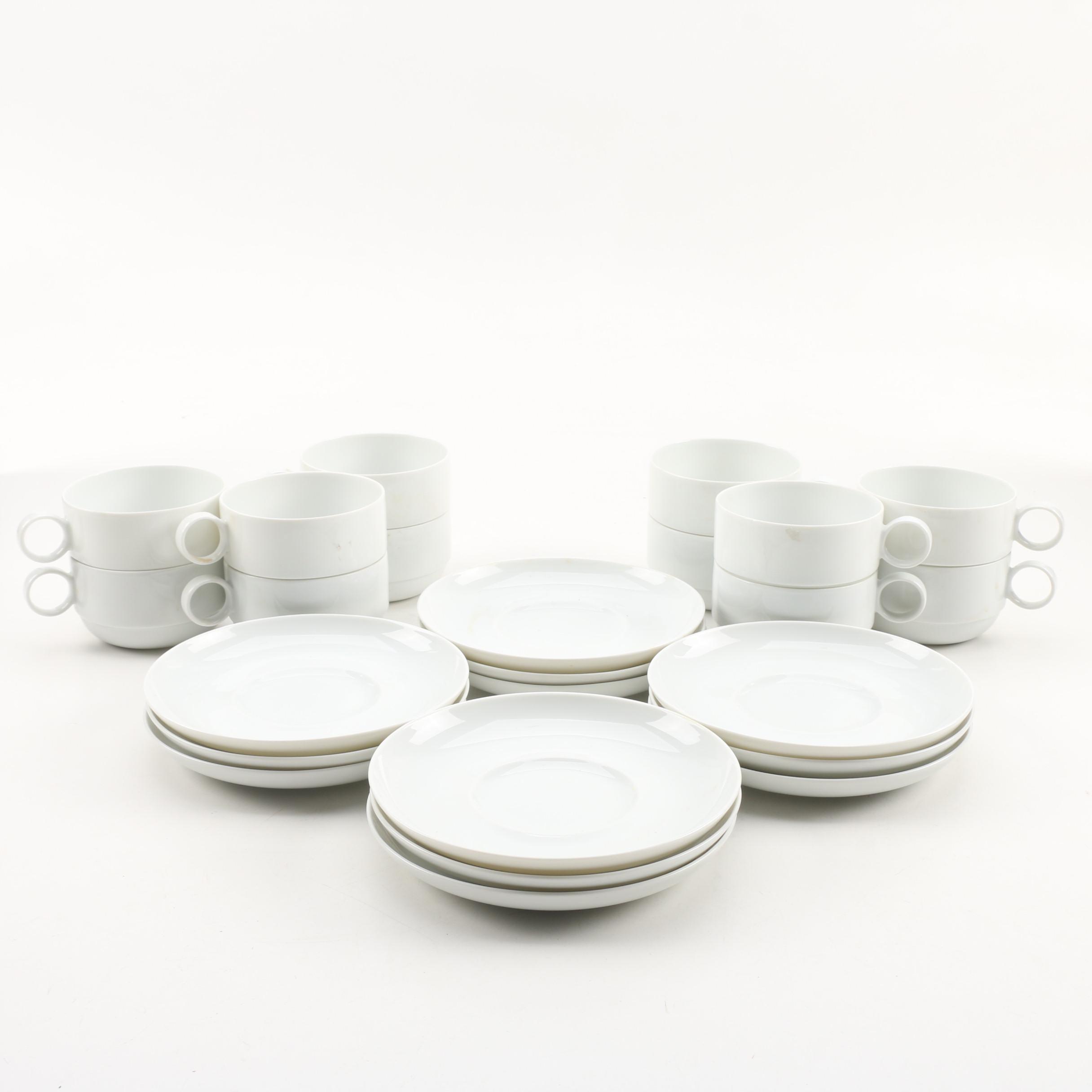 Rosenthal Porcelain Teacups and Saucers