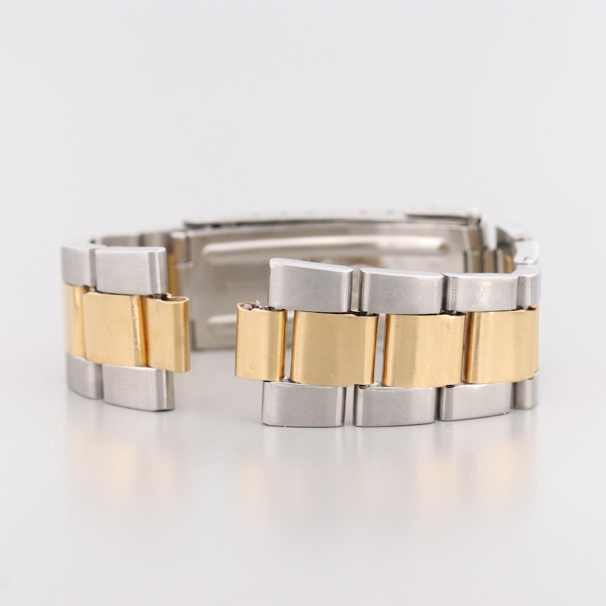 Rolex Submariner Stainless Steel and 18K Yellow Gold Bracelet, 1984