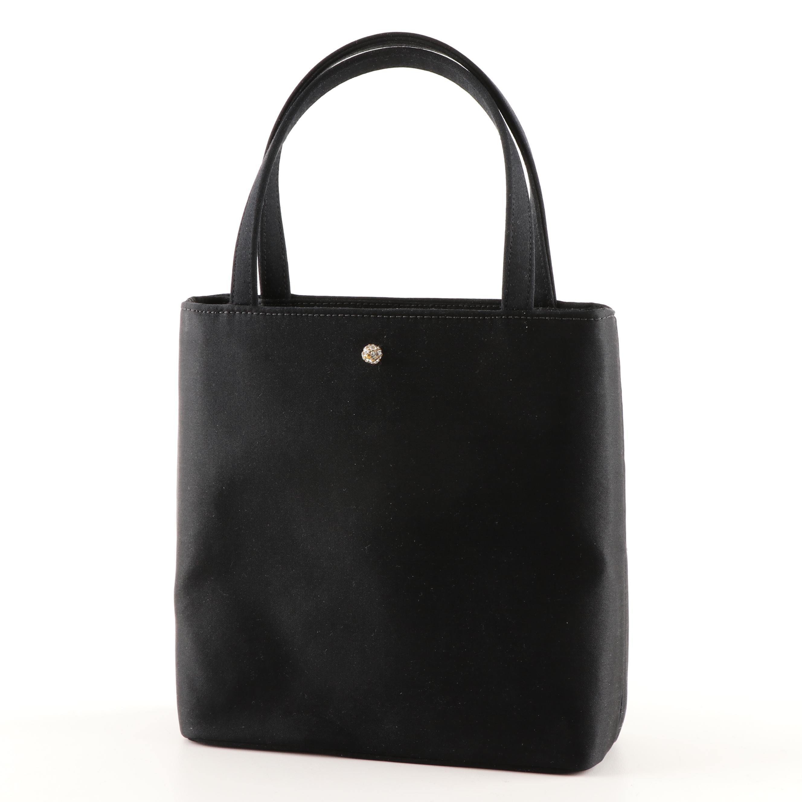 Kate Spade New York Black Fabric Shoulder Bag