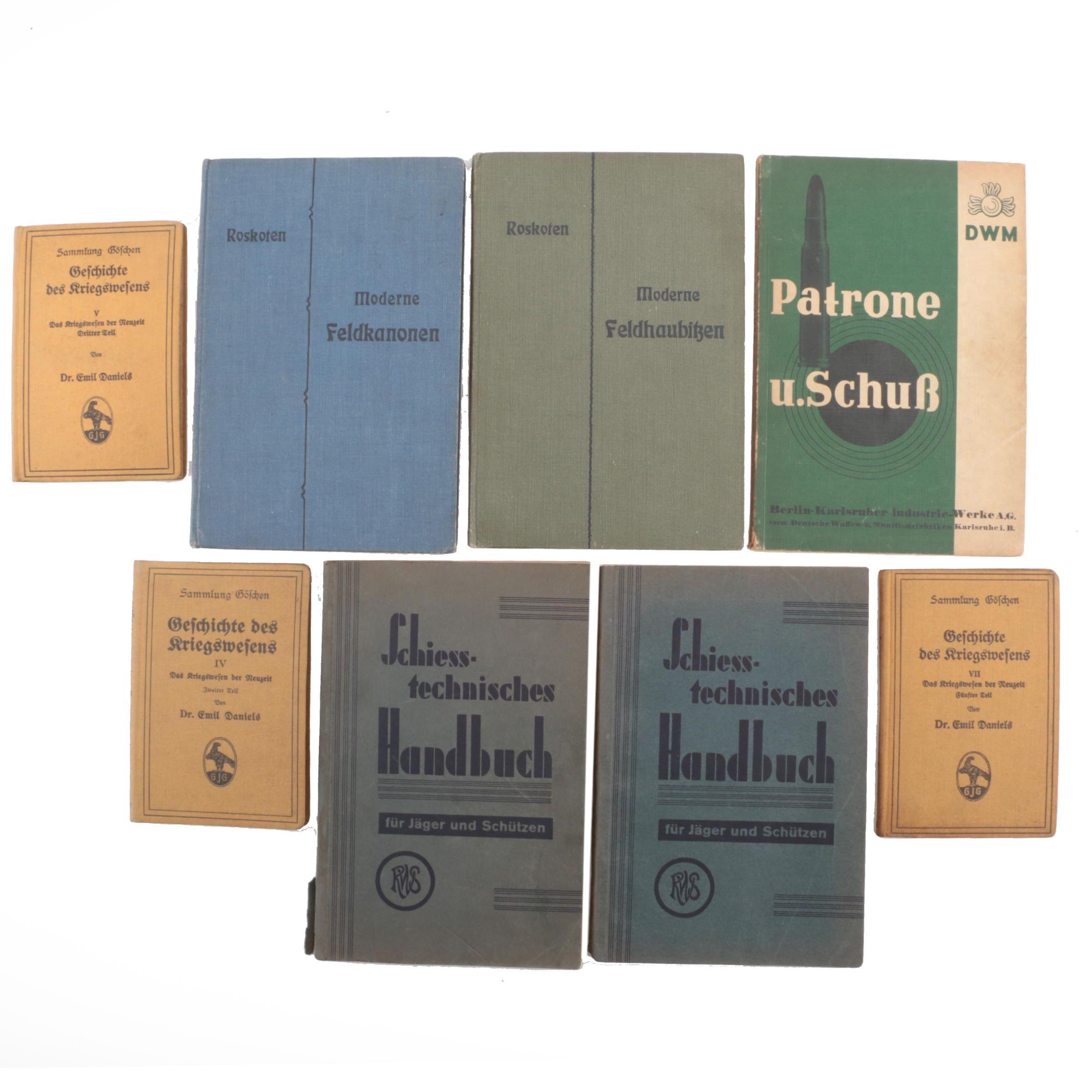 German Language Books on Firearms