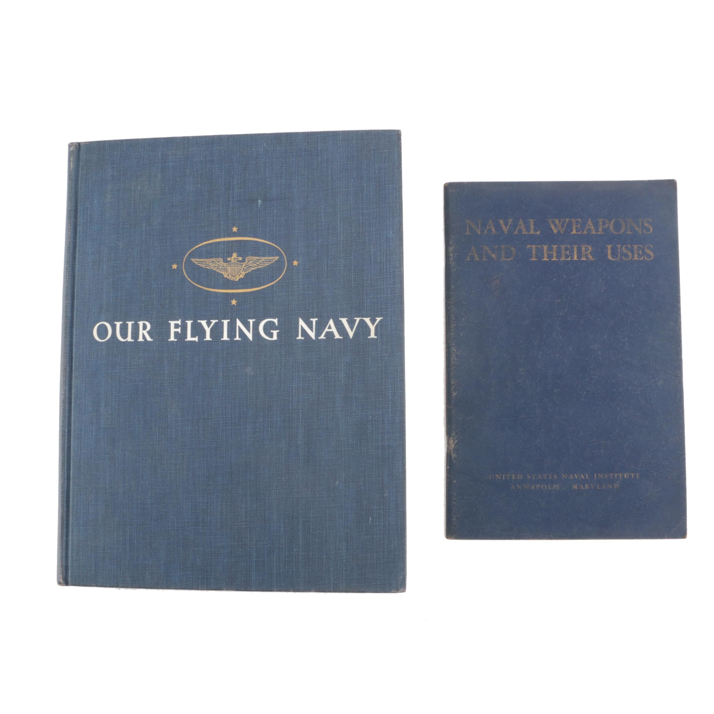 1940s Books on the United States Navy and Naval Weapons