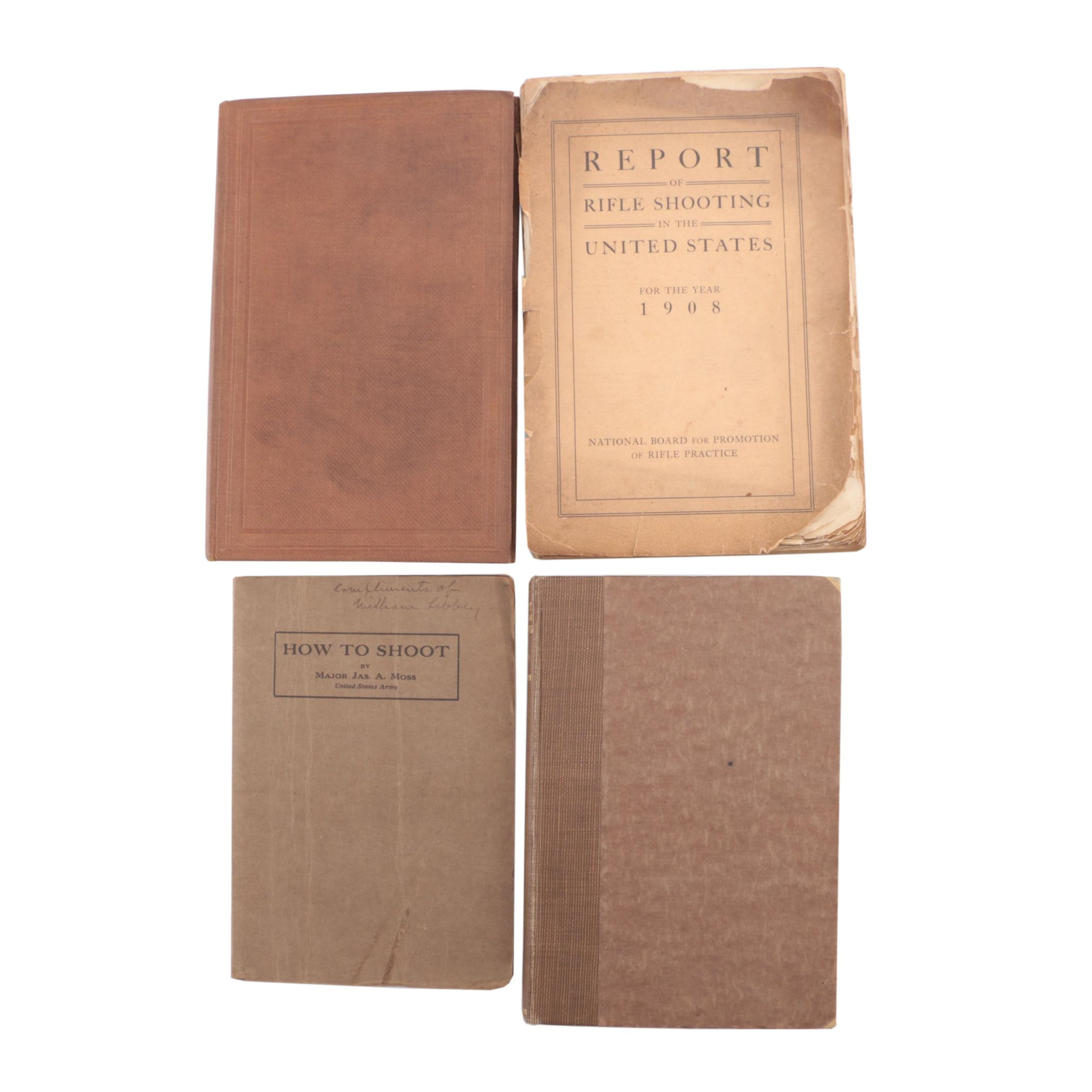 Antique Hunting and Shooting Books