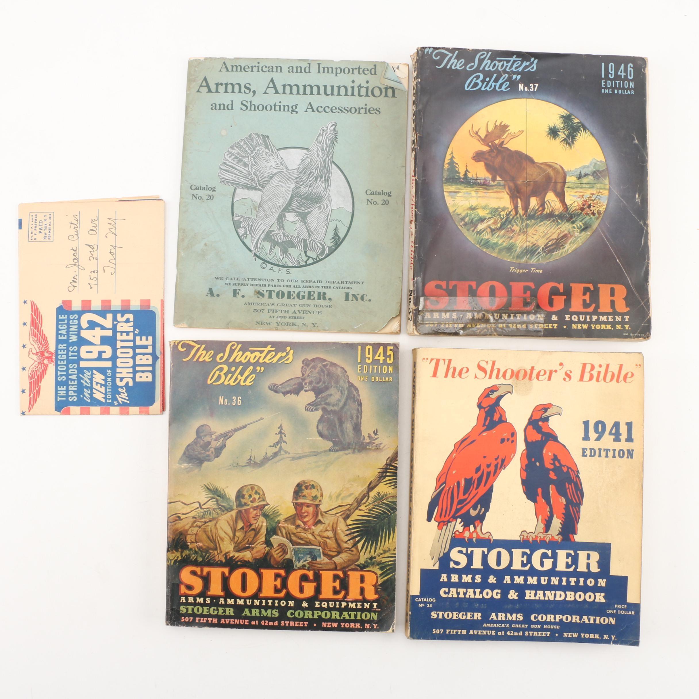 Vintage Stoeger Firearms Catalogs