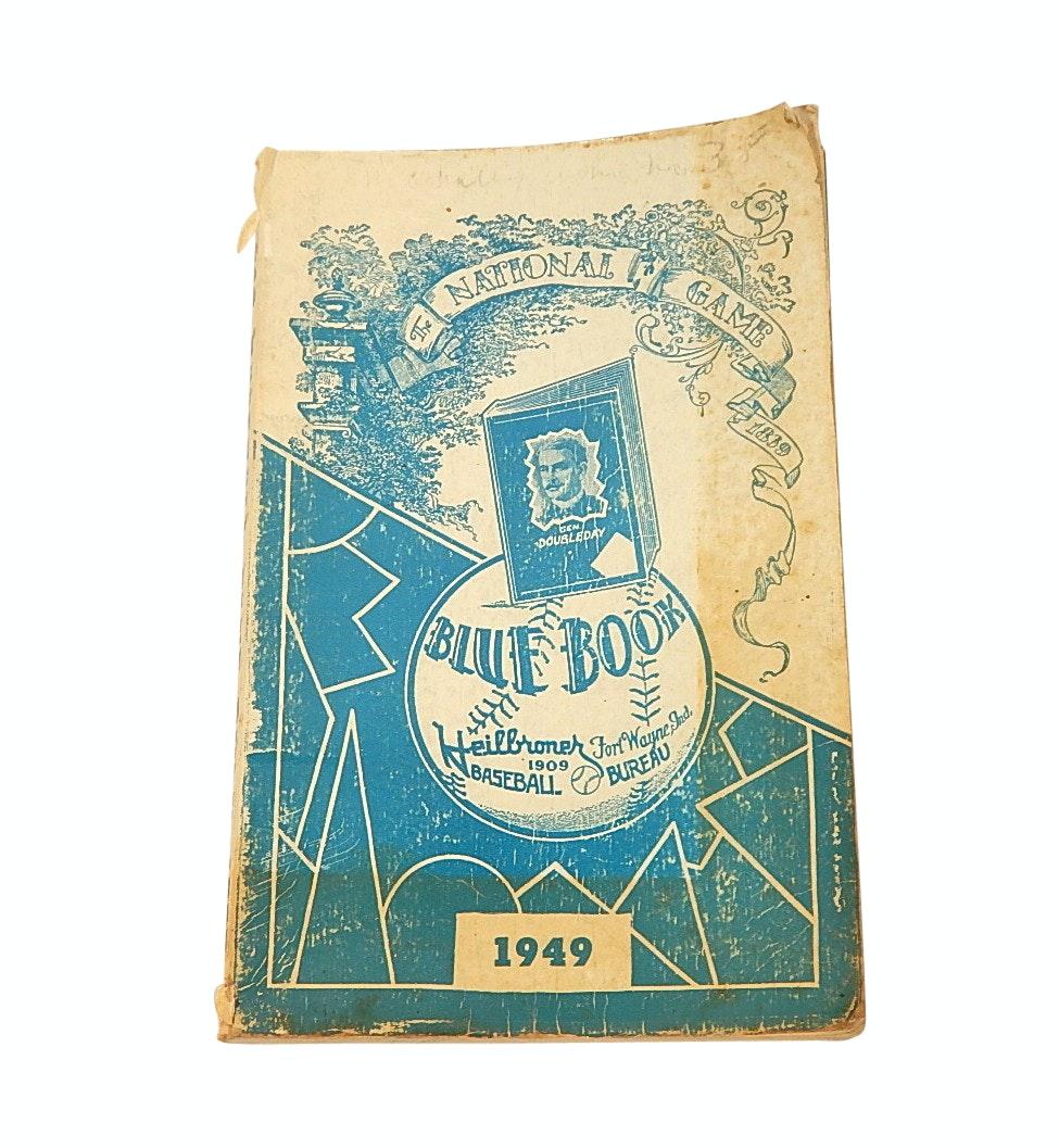 "1949 Heilbroner Baseball Bureau ""The Baseball Blue Book"""