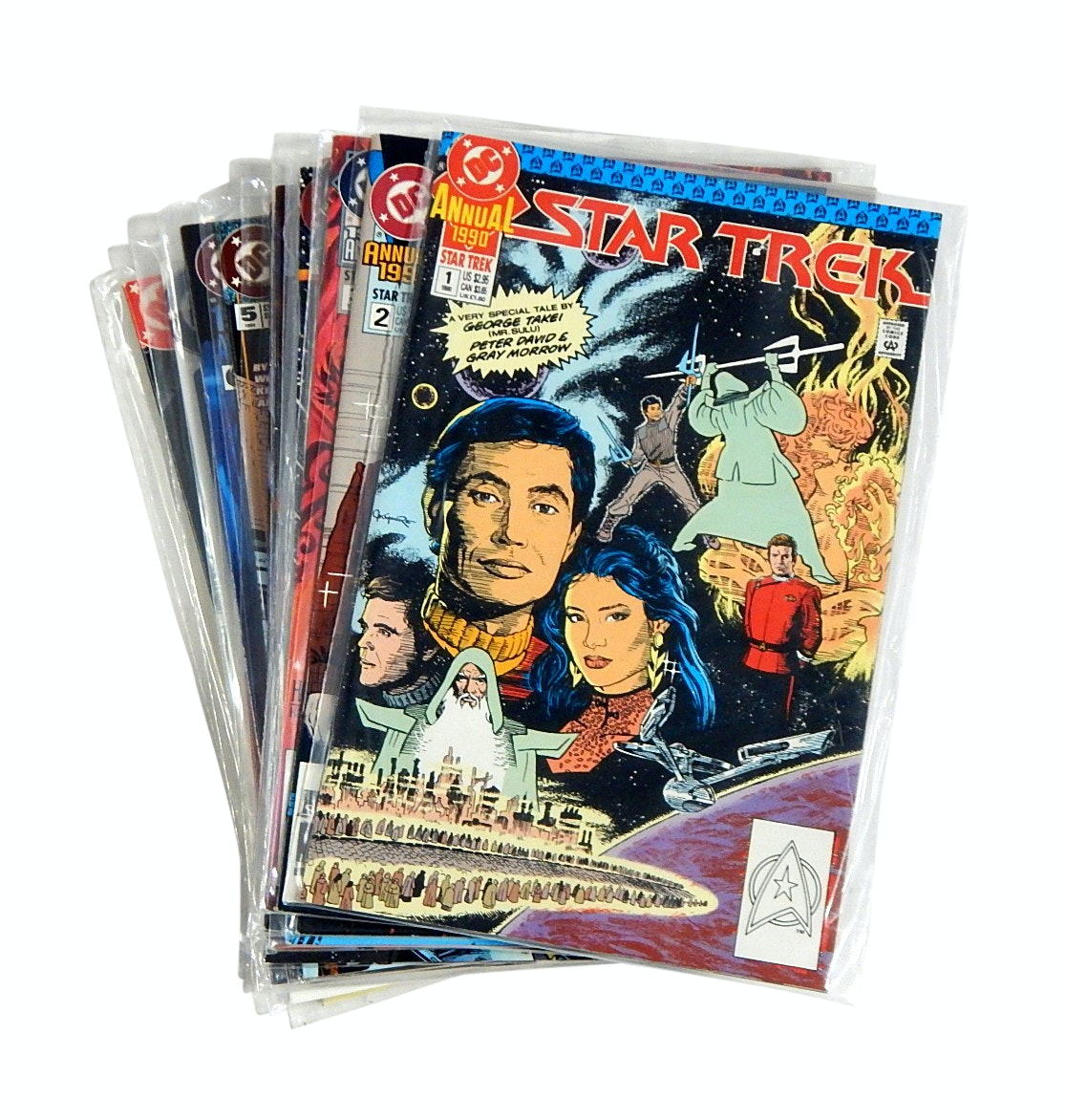 "Modern Age DC Comics with ""Star Trek"" with First Issues and Annuals"