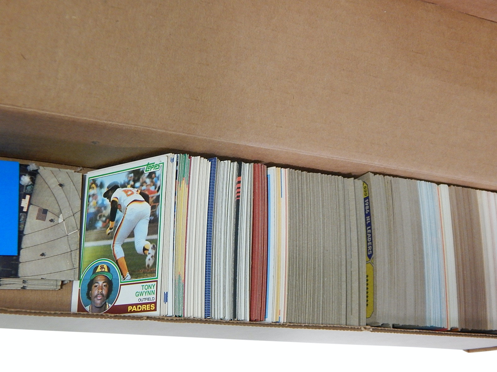 Hall of Fame Tony Gwynn Baseball Card Collection with Rookies