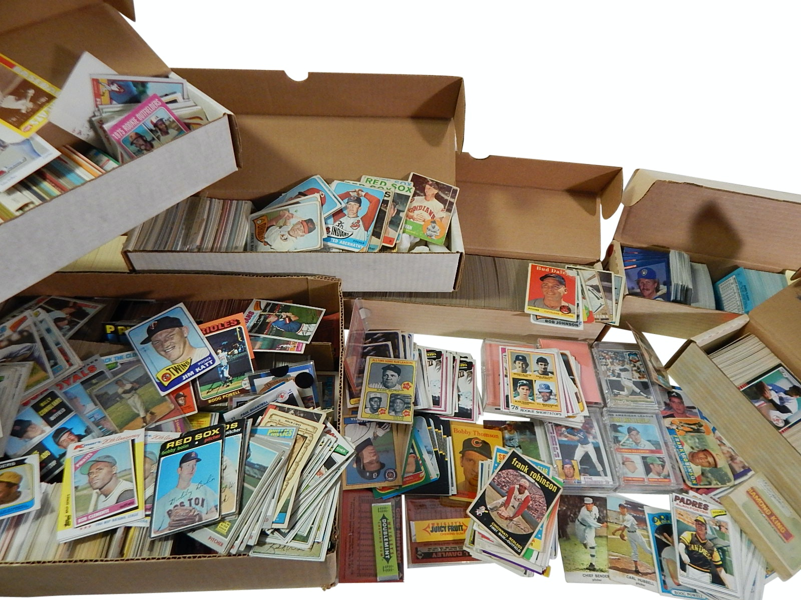 Large 1960s to 1990s Baseball Card Collection