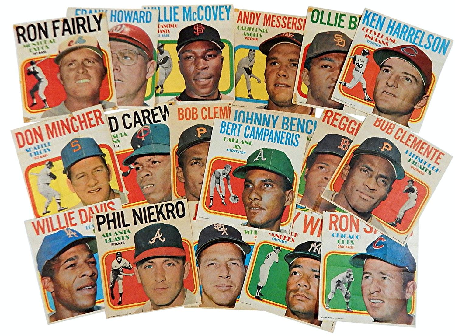 1970 Topps Poster Insert Photographs