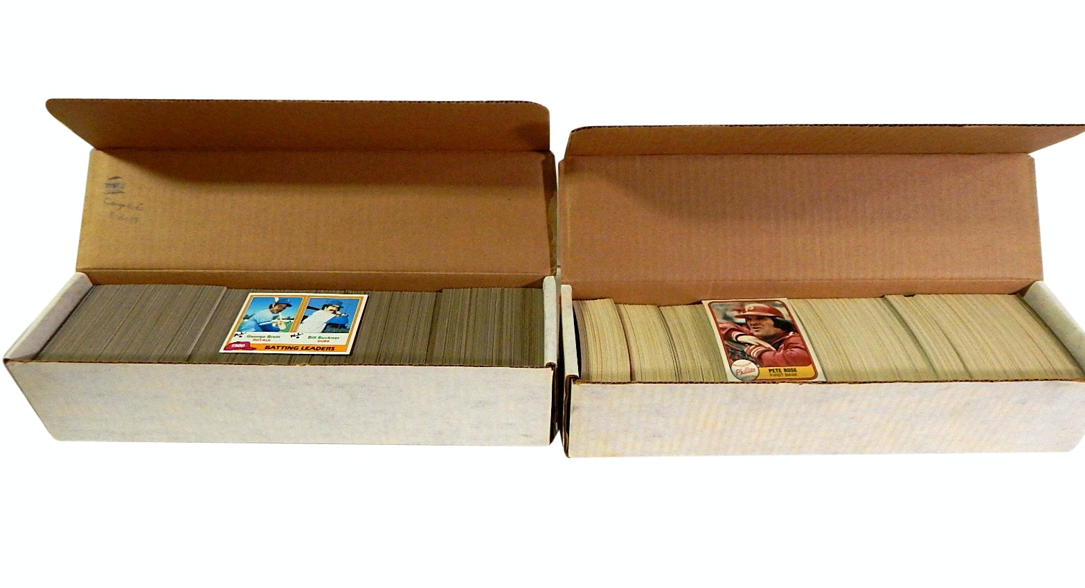 1981 Topps and Fleer Complete Baseball Card Sets - Includes Fleer Nettles Error
