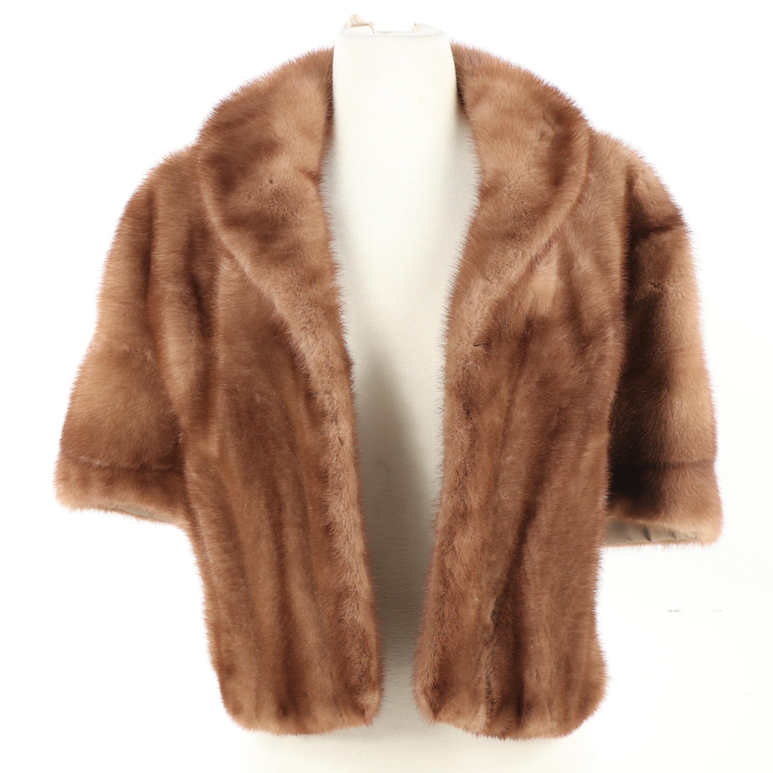 Women's Evans Mink Fur Stole, Vintage
