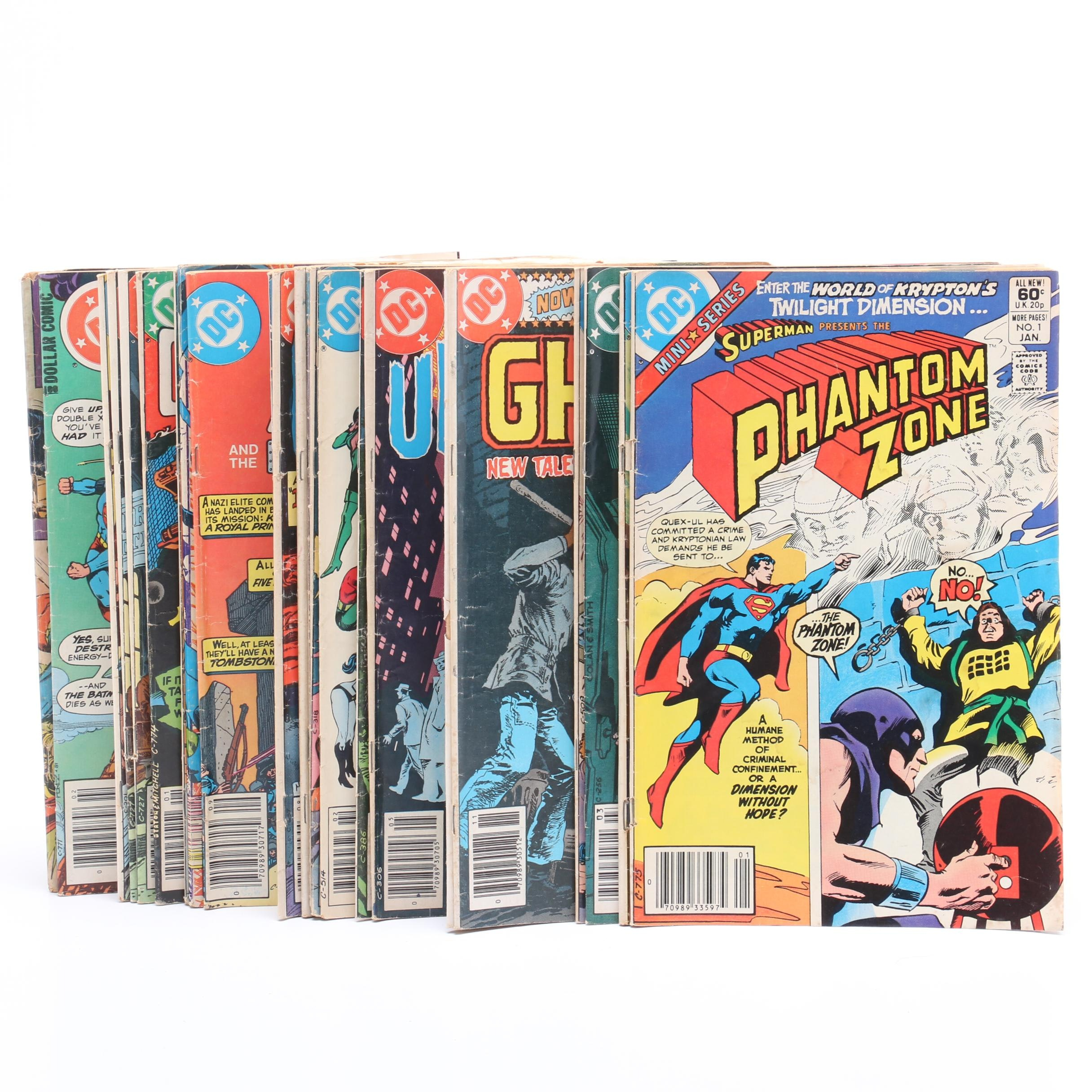 "DC Bronze Age Comics Including ""Night Force"",  ""Superman"" and More"