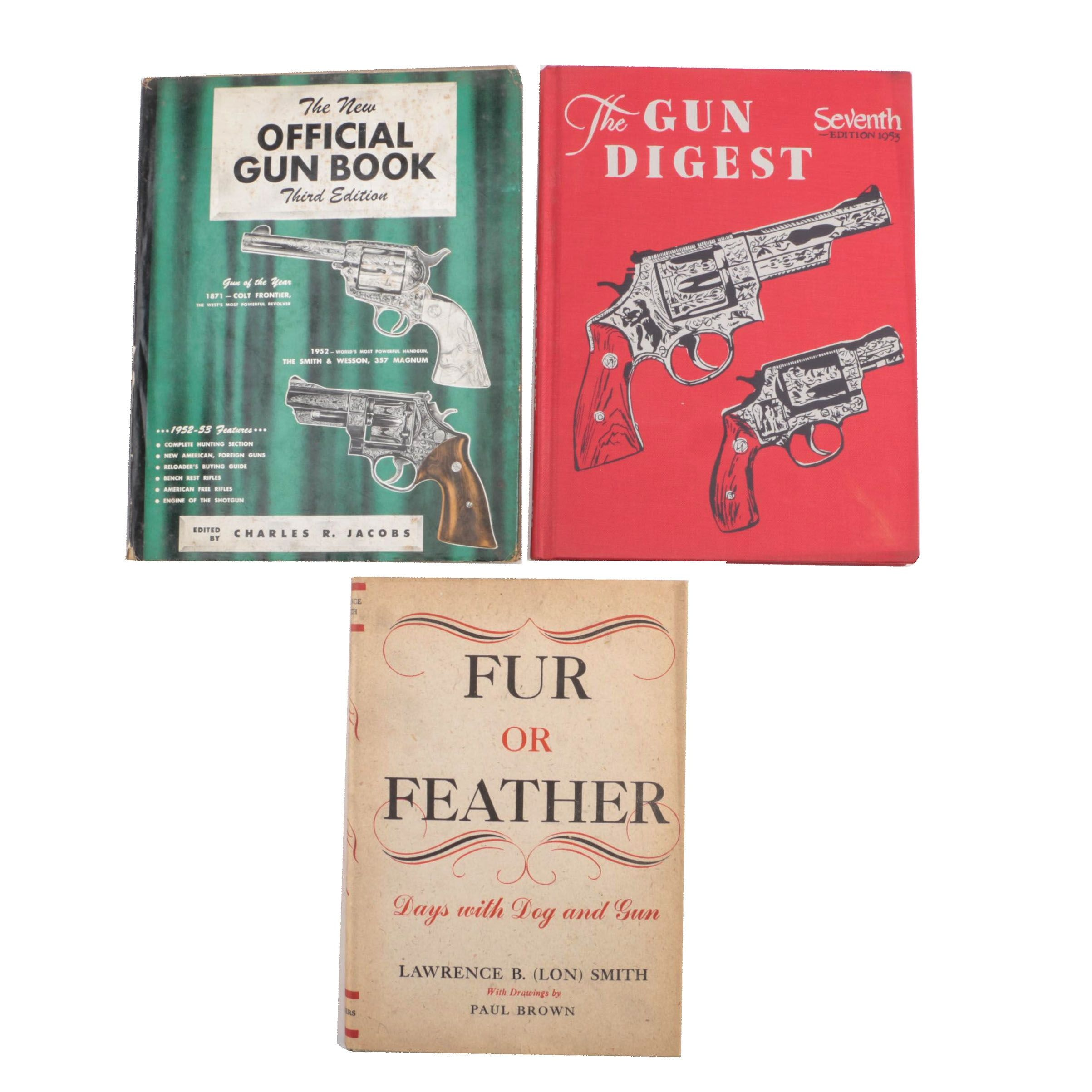 Vintage Gun and Hunting Books