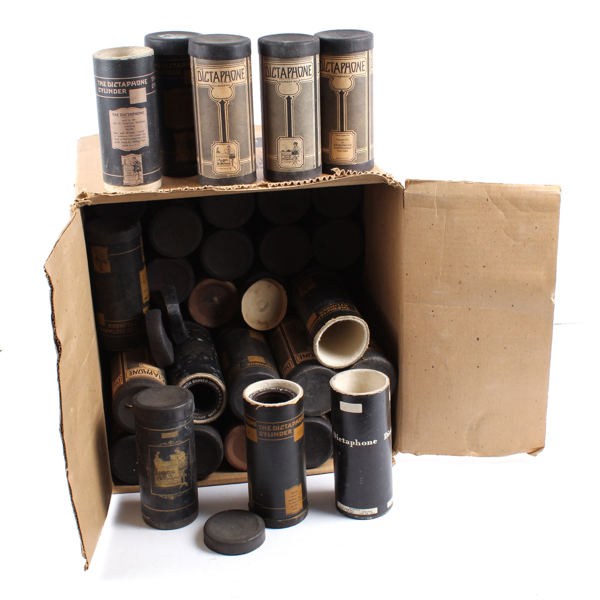 Dictaphone Wax Cylinder Collection