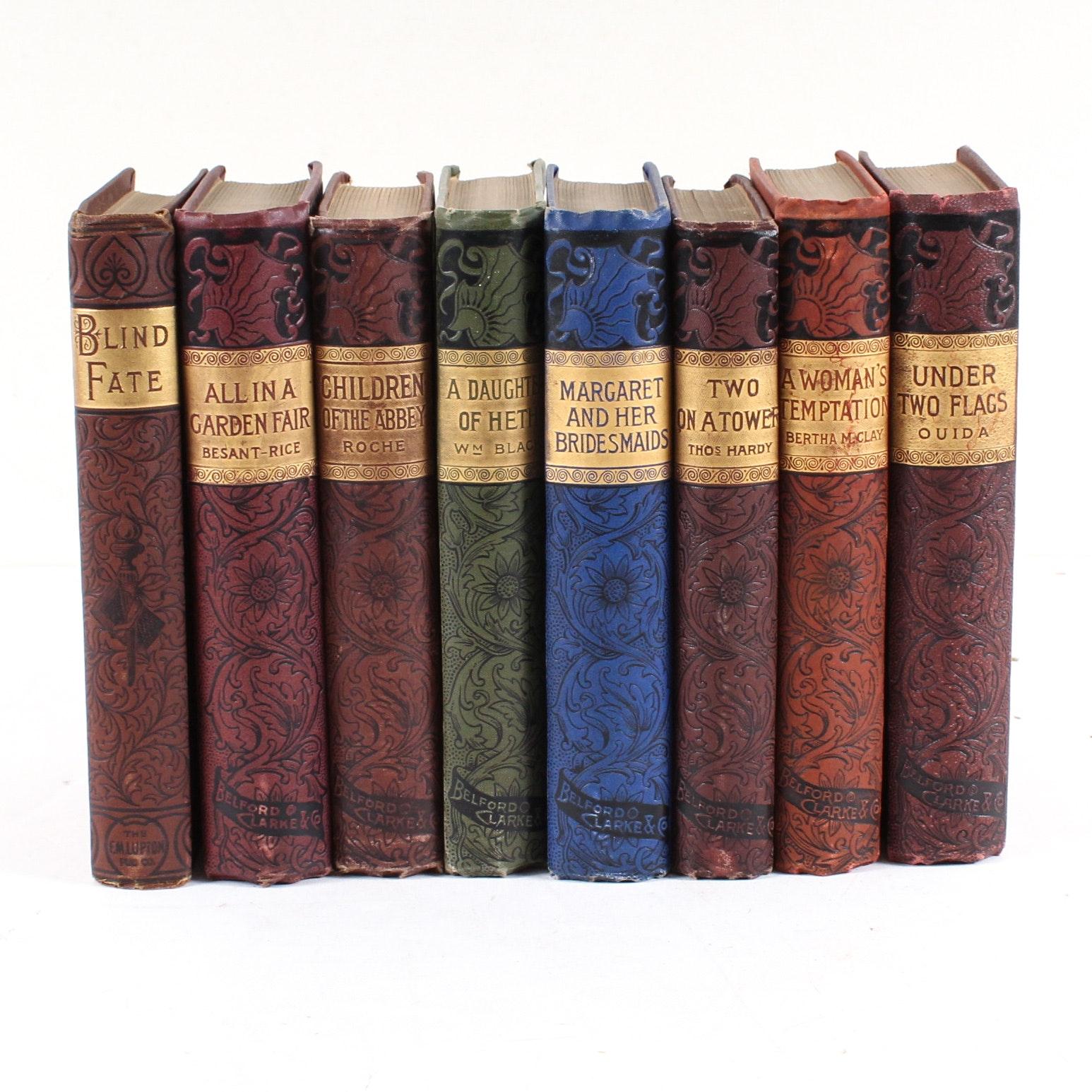 Early 20th Century Caxton Edition Novels