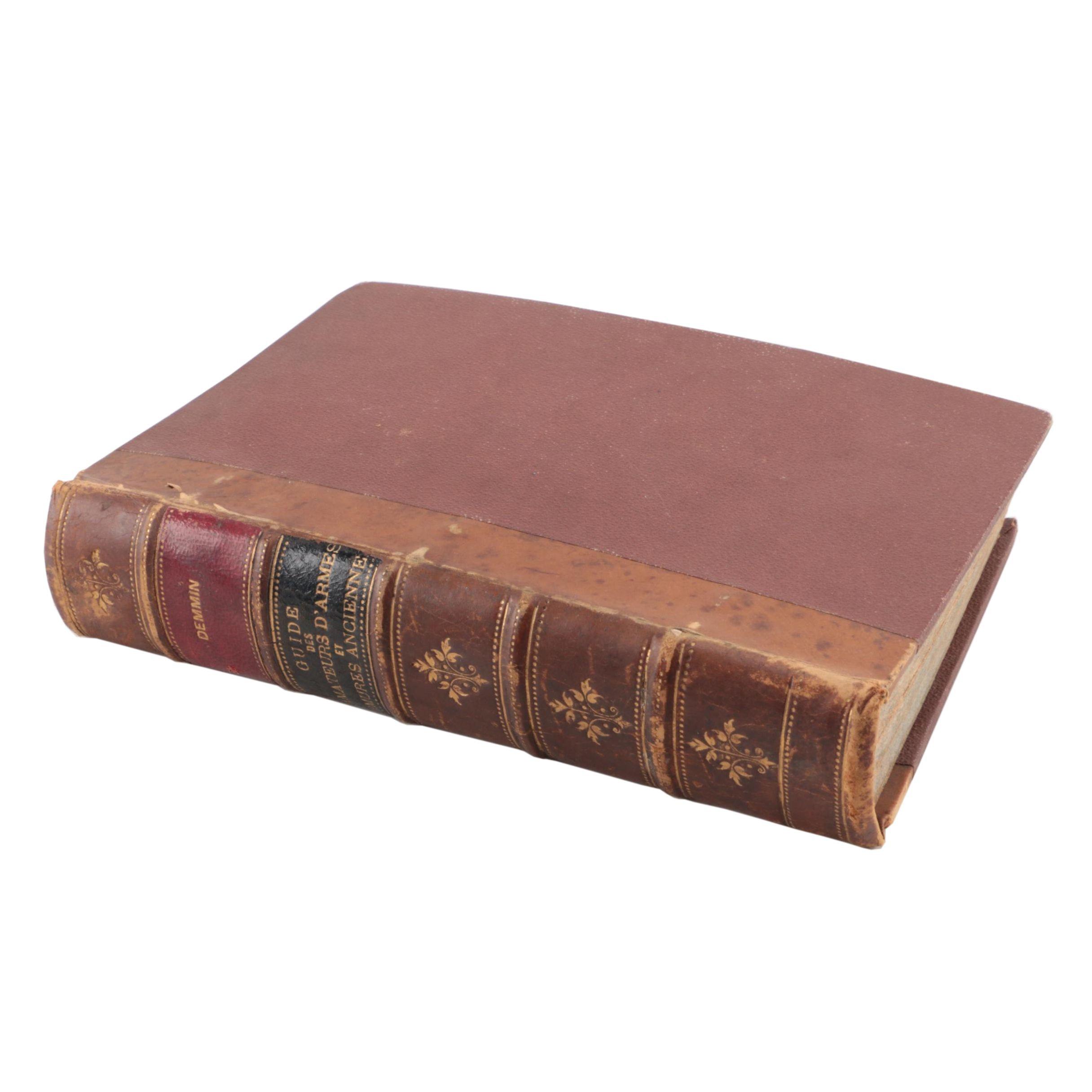 """1869 """"Guide des Amateurs d'Armes et Armures Anciennes"""""""