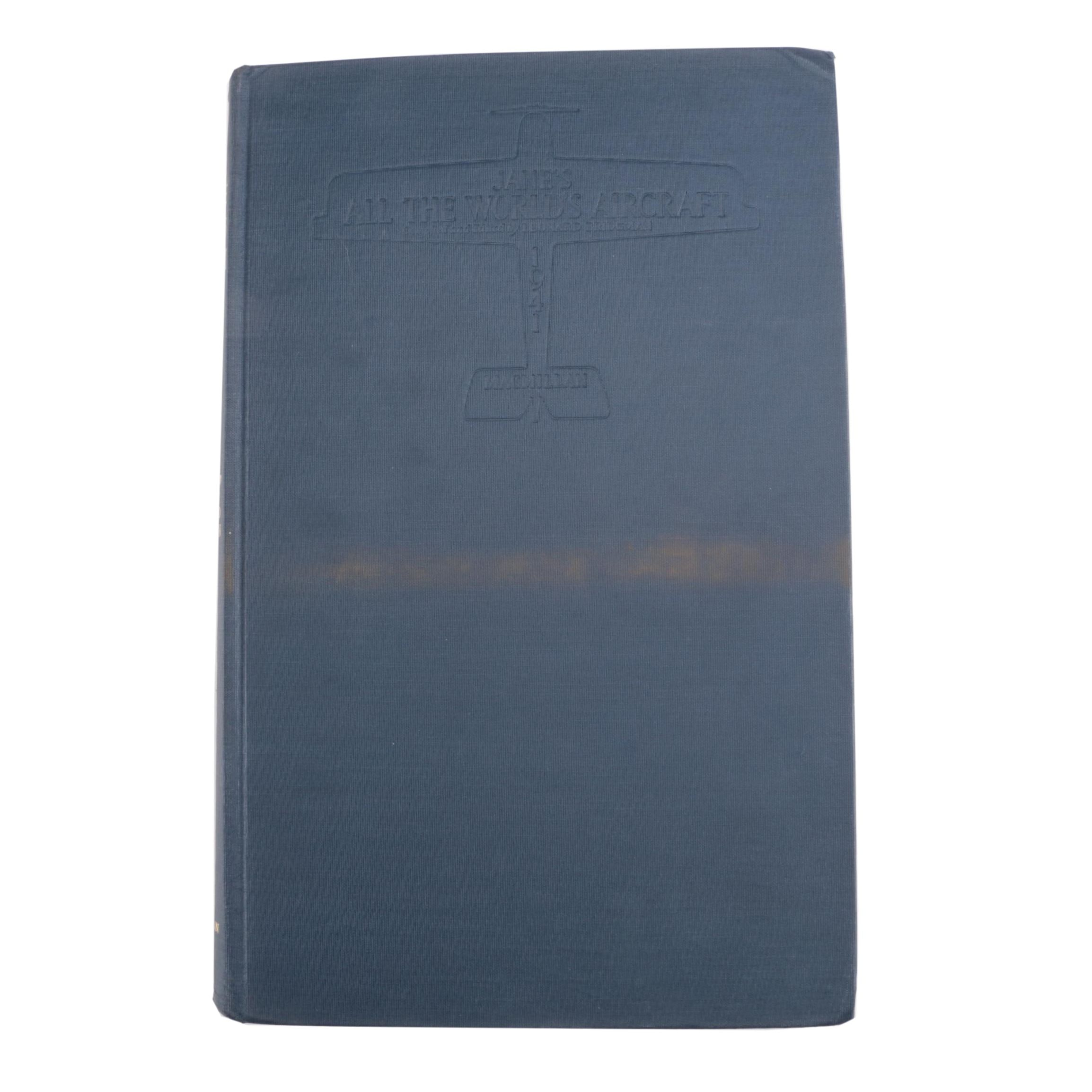 """Jane's All the World's Aircraft 1941"" Edited by Leonard Bridgman"