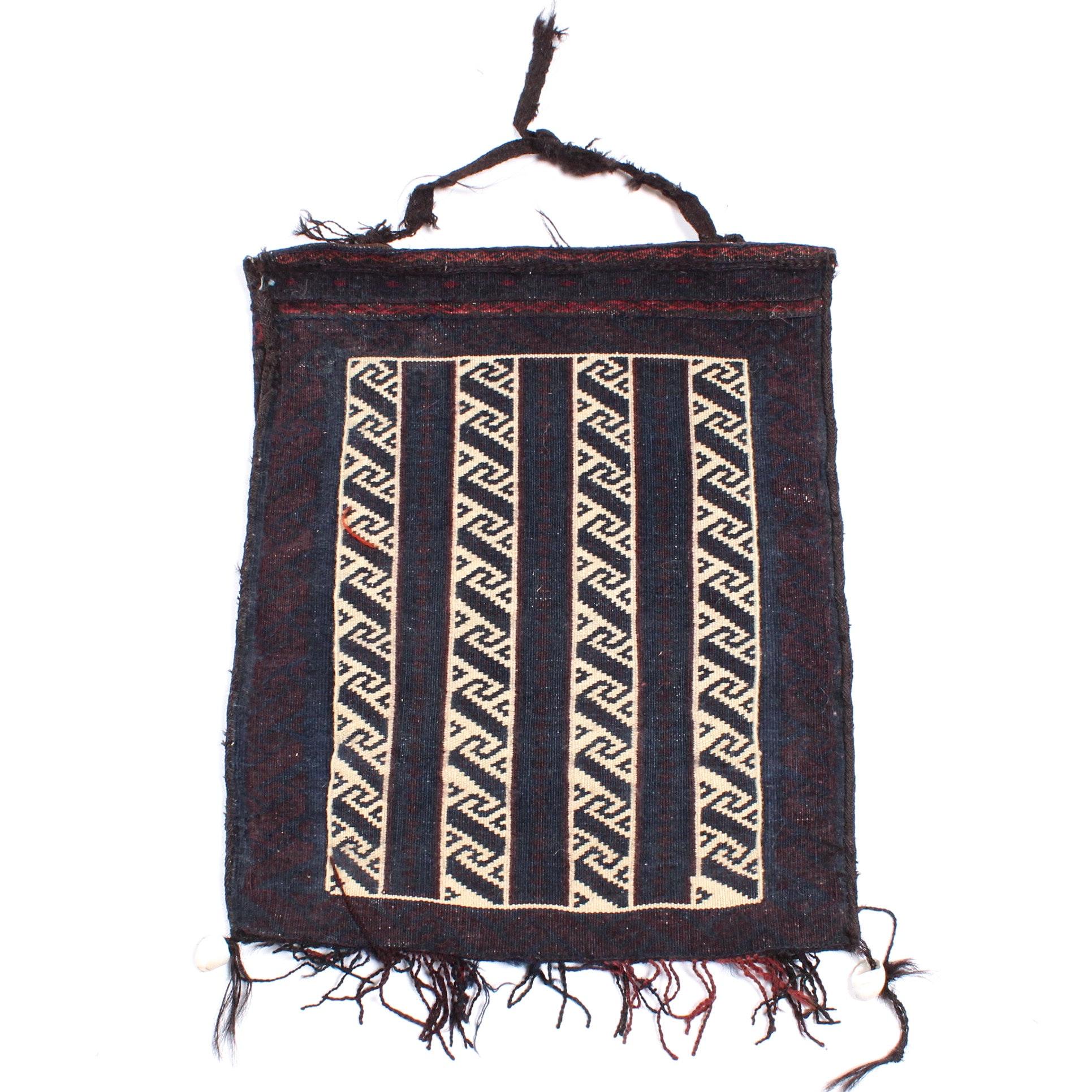 Handwoven Persian Baluch Chanteh Storage Bag