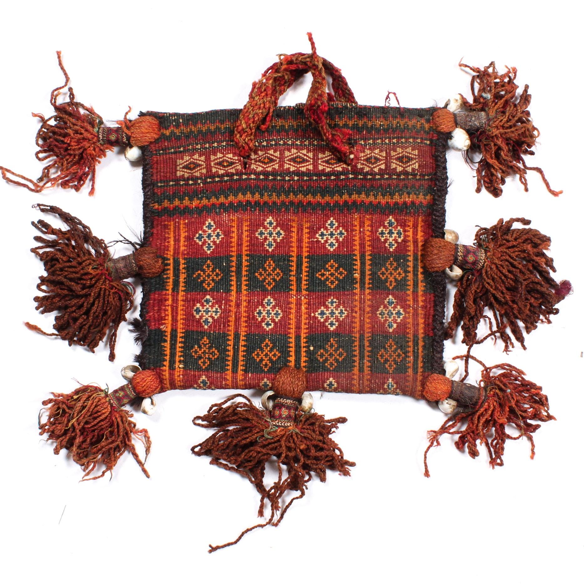 Handwoven Persian Chanteh Storage Bag