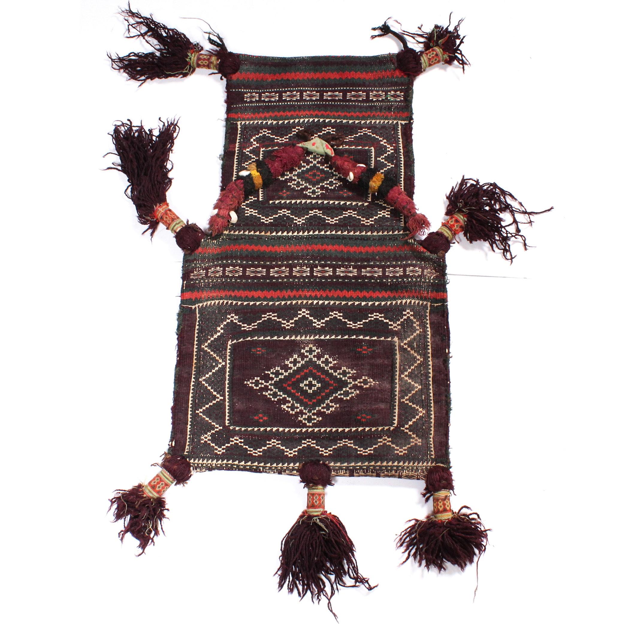 Handwoven Persian Storage Bag