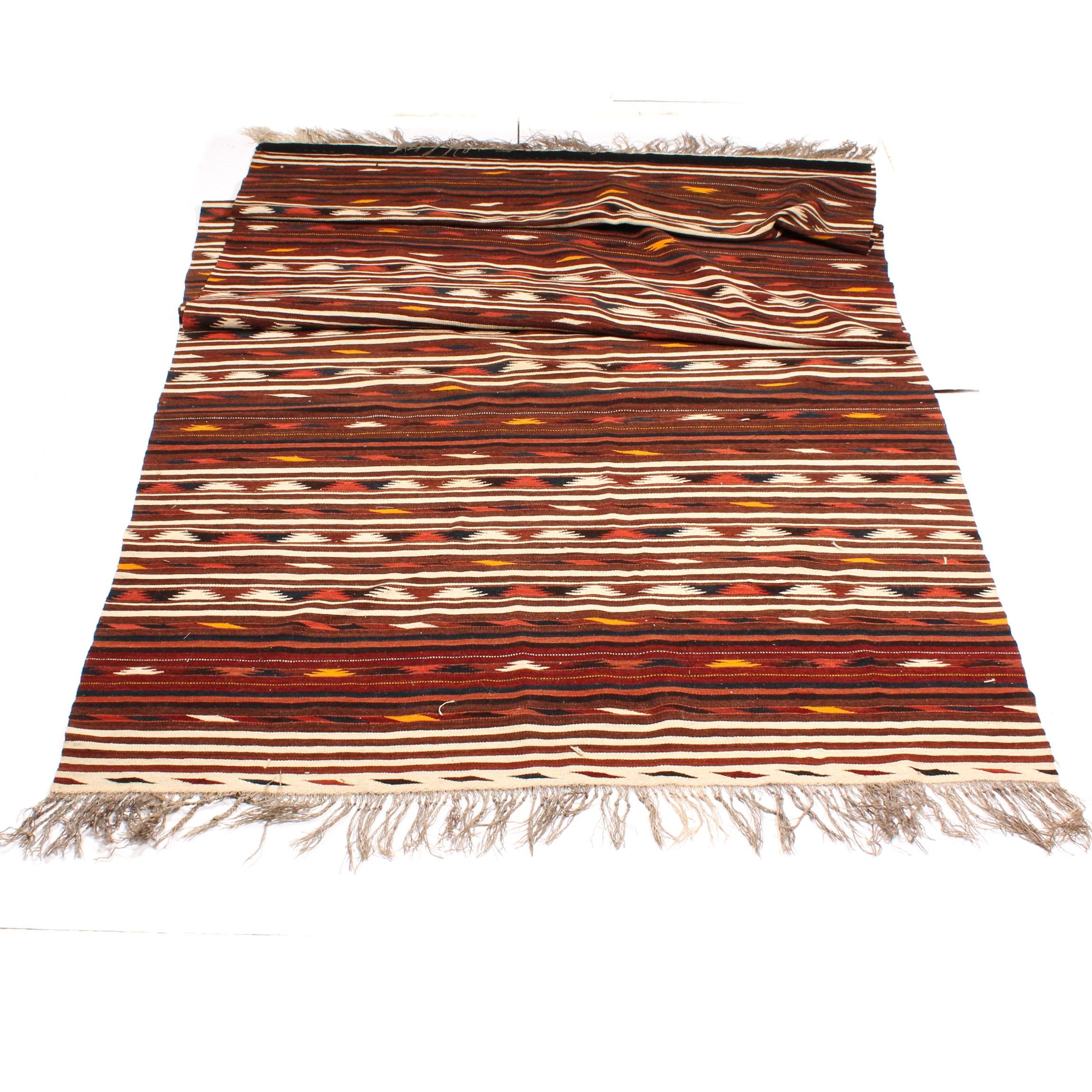 Handwoven Afghan Dali Kilim Long Rug