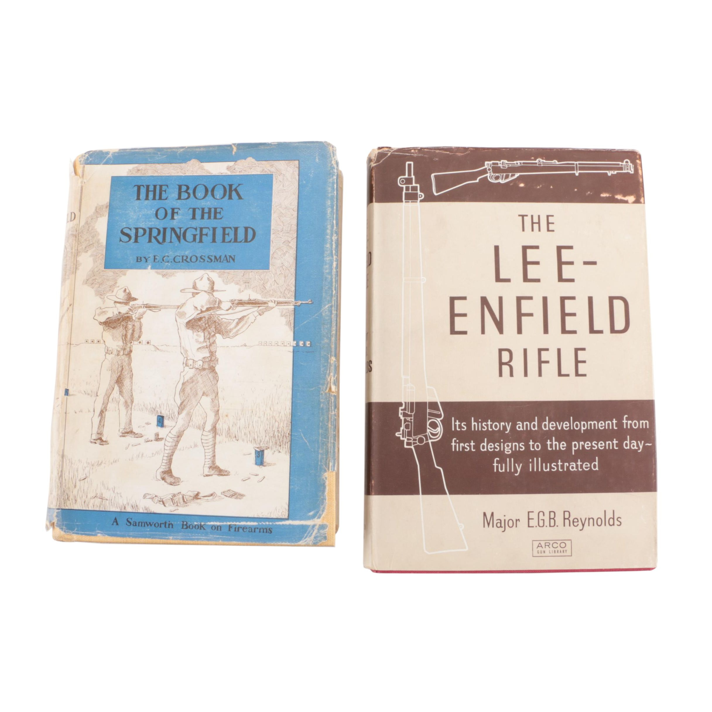 Vintage Books on the Lee-Enfield and Springfield Rifles