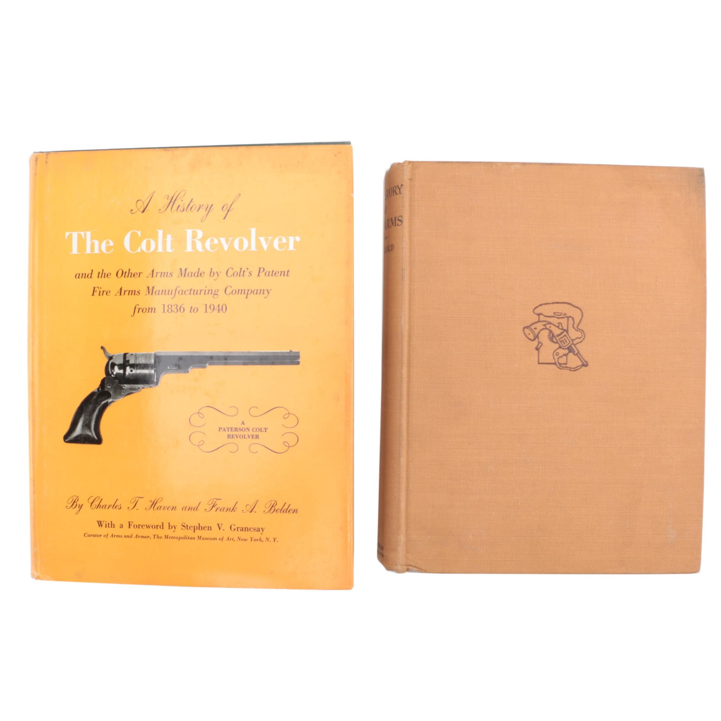 """Vintage Books on Firearms featuring """"A History of the Colt Revolver"""""""
