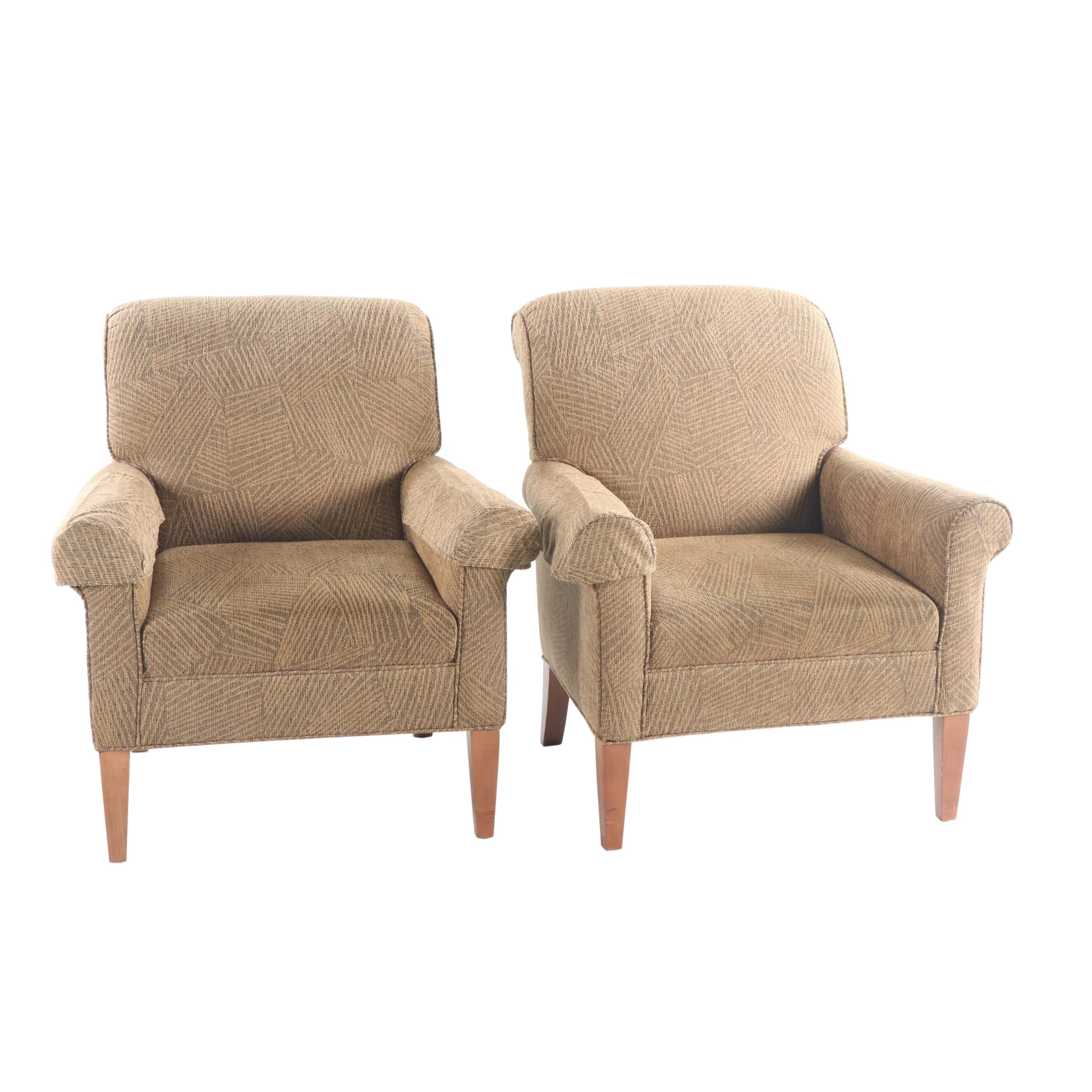 Upholstered Armchairs by Flexsteel Industries, 21st Century
