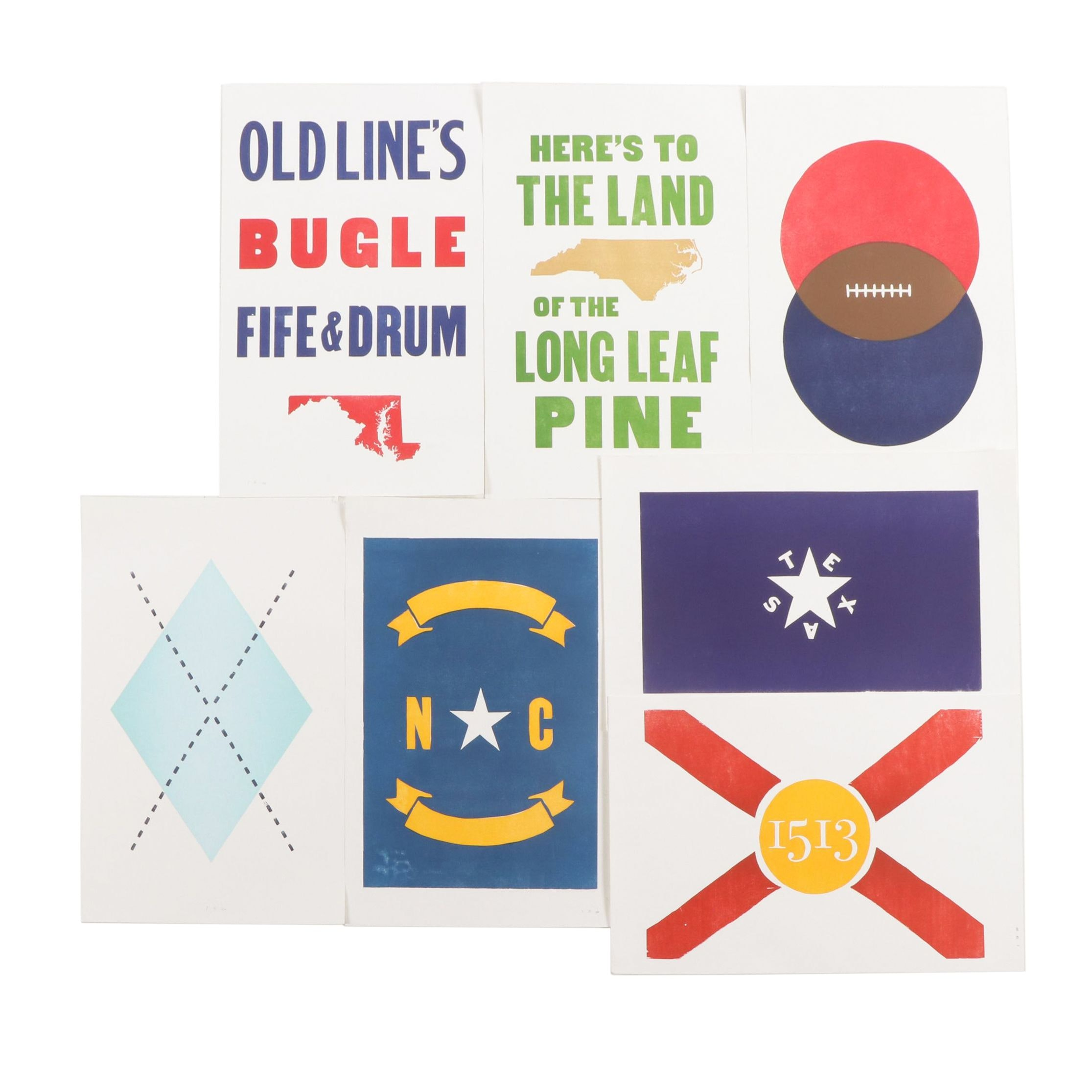 Southern Style Letterpress Collection