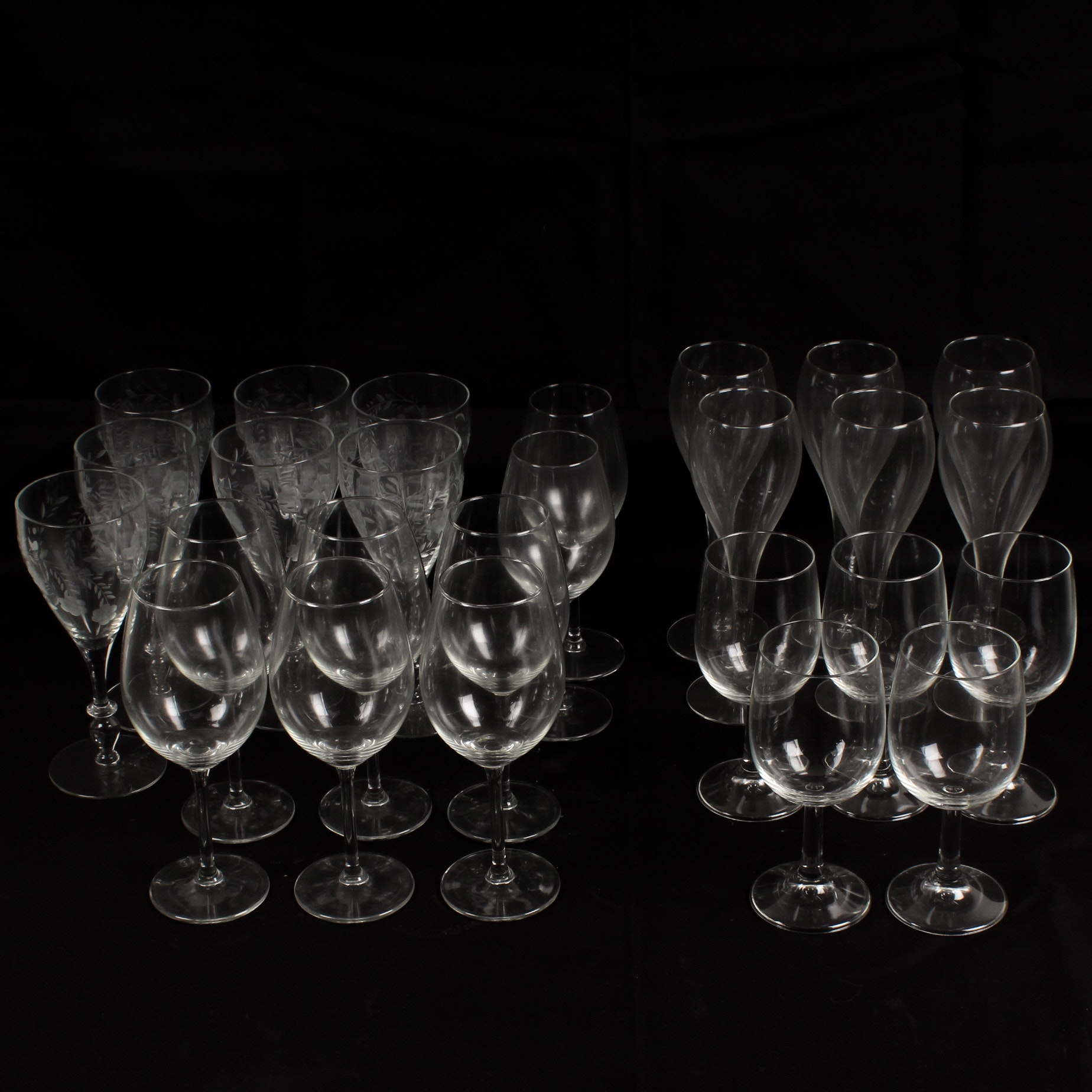 Glass Stemware Assortment