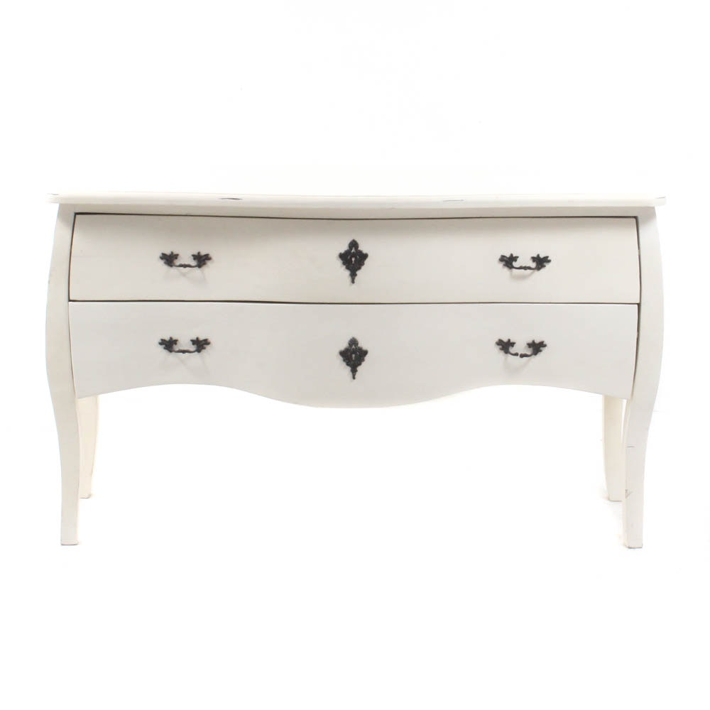 French Provincial Style Serpentine Front Dresser