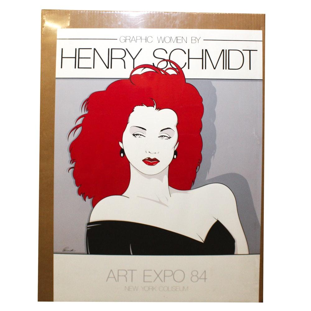 Henry Schmidt Art Expo '84 Poster
