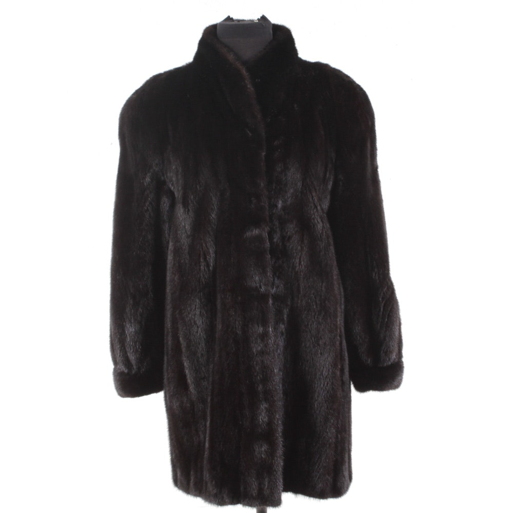 Peter Monett for The Union Ranch Mink Fur Coat