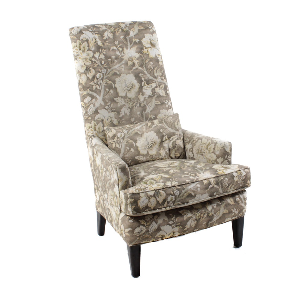 Arhaus Upholstered High Back Armchair
