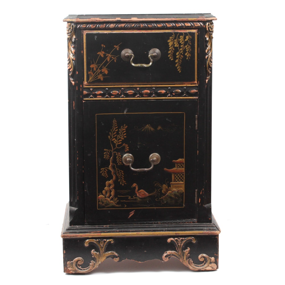Antique Chinoiserie Side Table