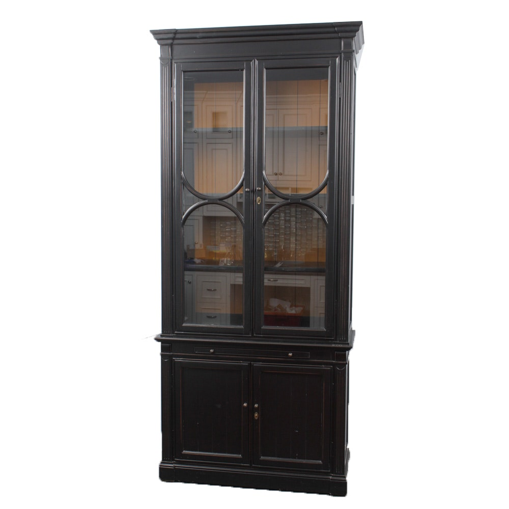 Aurhaus Furniture Contemporary Wood Hutch