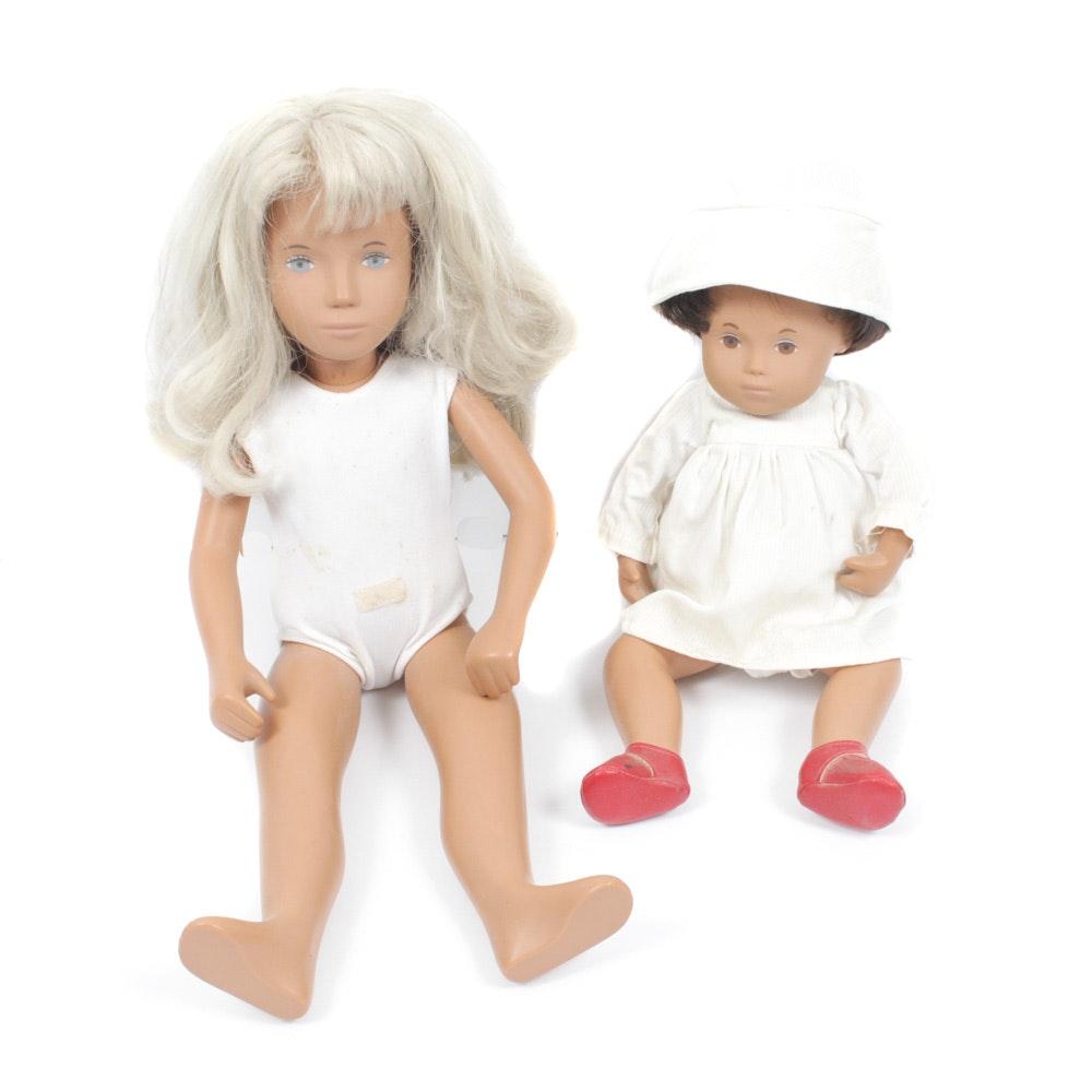 Two Sasha Dolls, circa 1960s