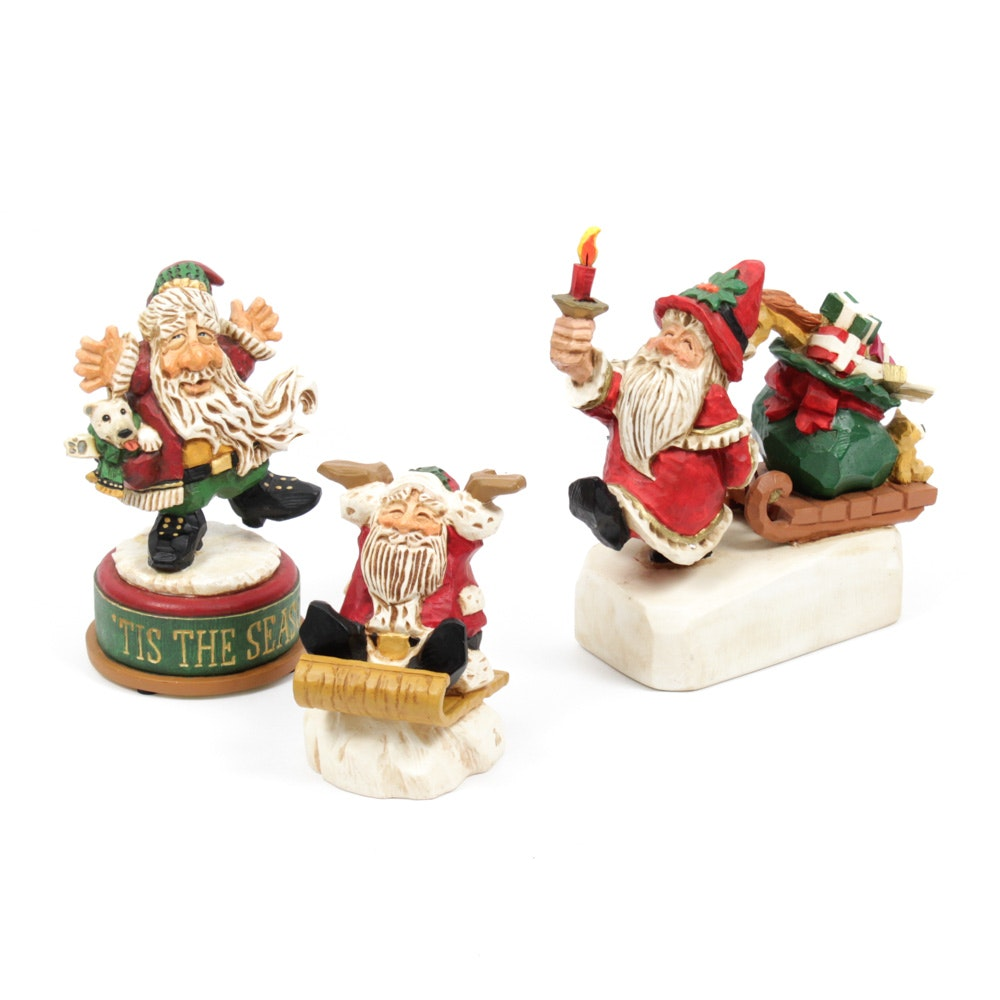 David Frykman for Studio G! Santa Figurines