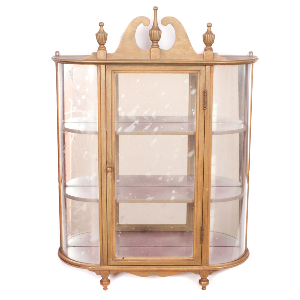 Federal Style Display Cabinet