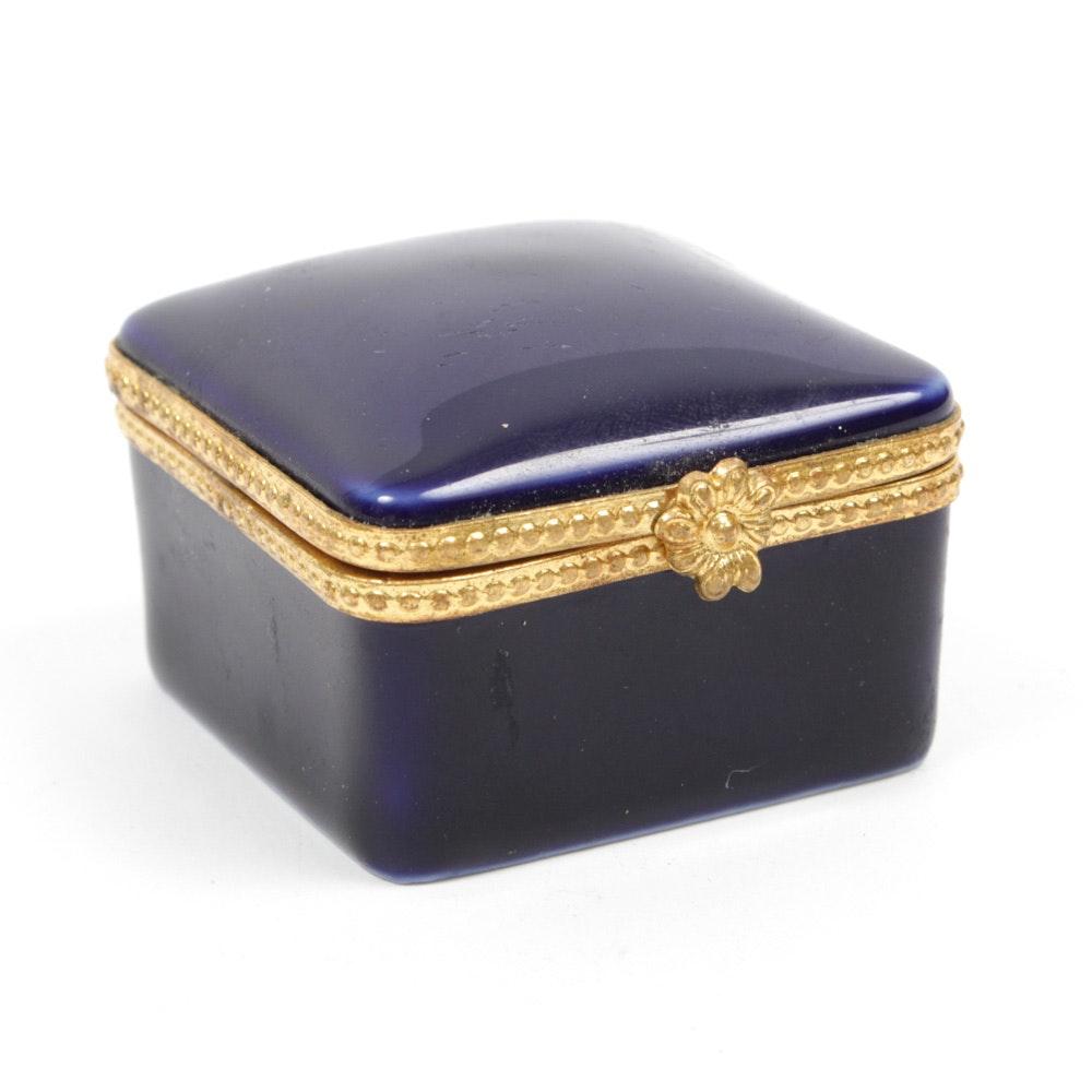 Limoges for Tiffany & Co. Porcelain Trinket Box