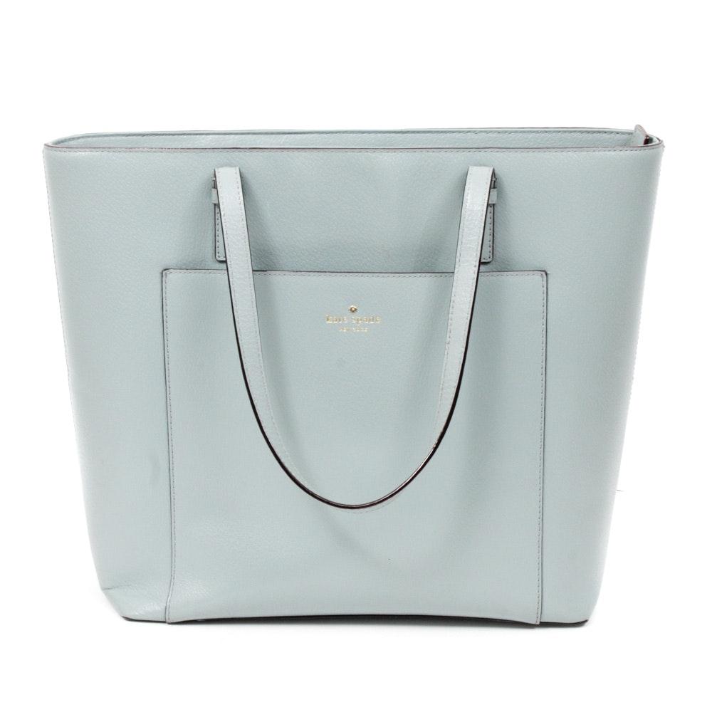 Kate Spade New York Grand Street Sadie Tech Boarskin Leather Tote Bag