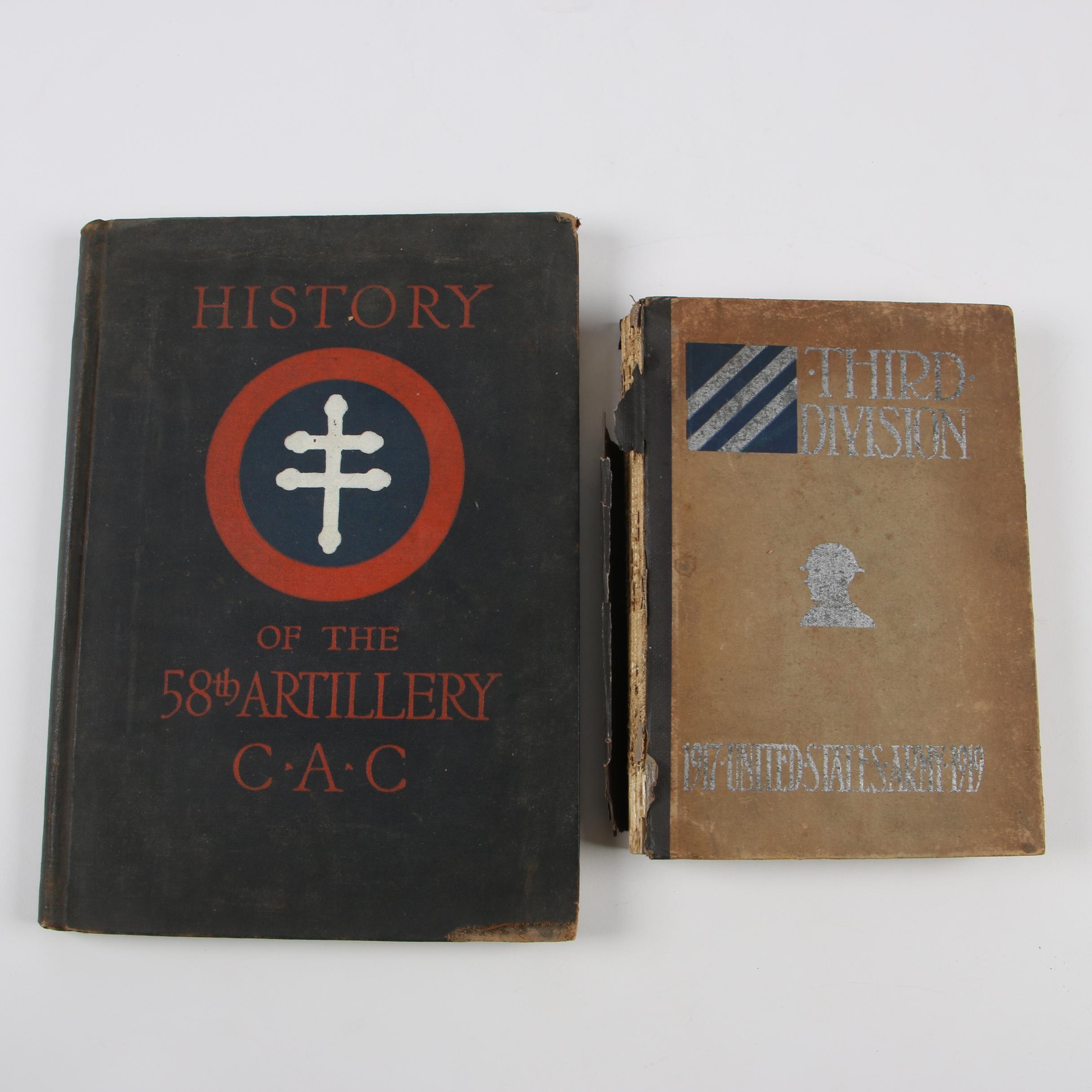 Vintage World War I Related Books