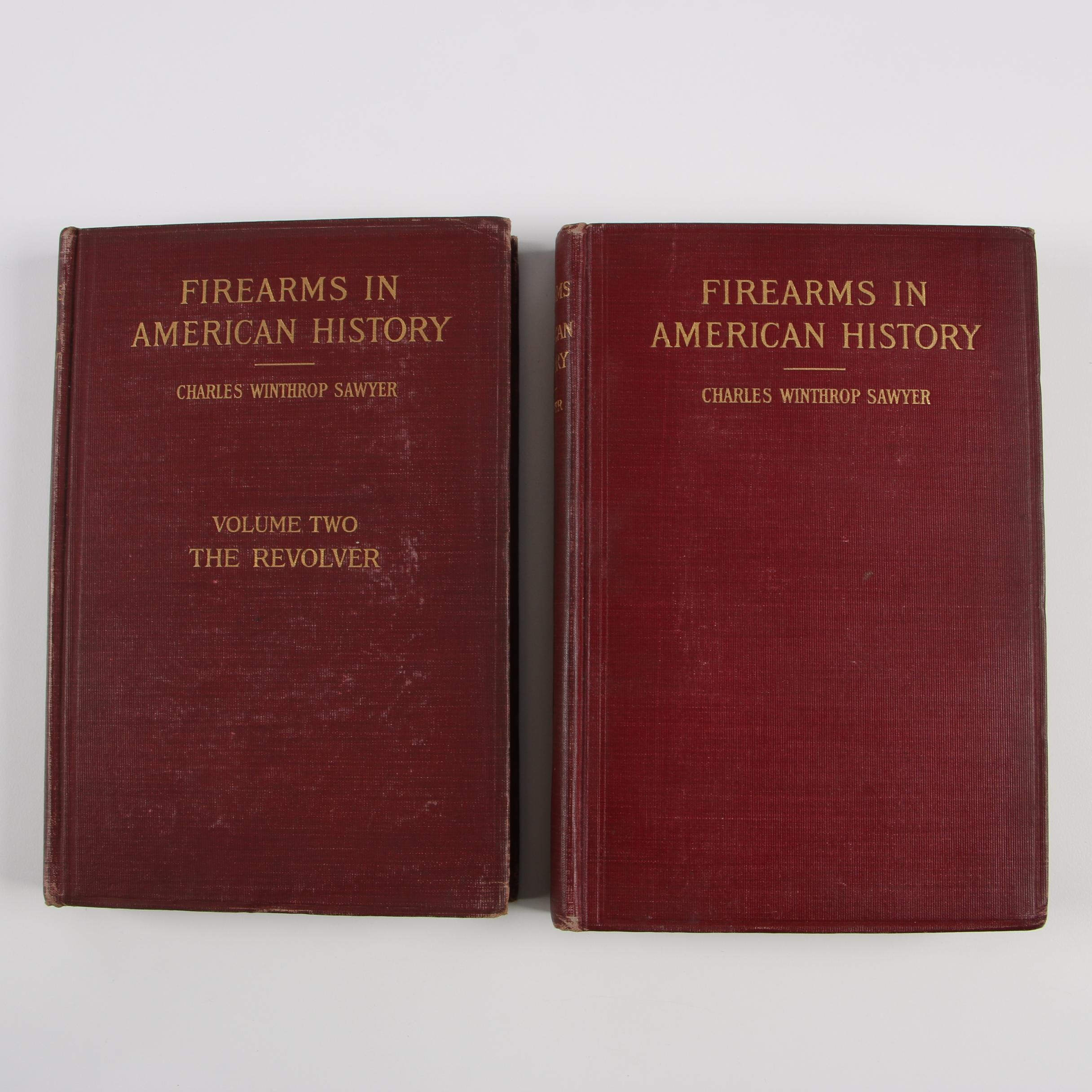 "1910 ""Firearms in American History"" in Two Volumes"