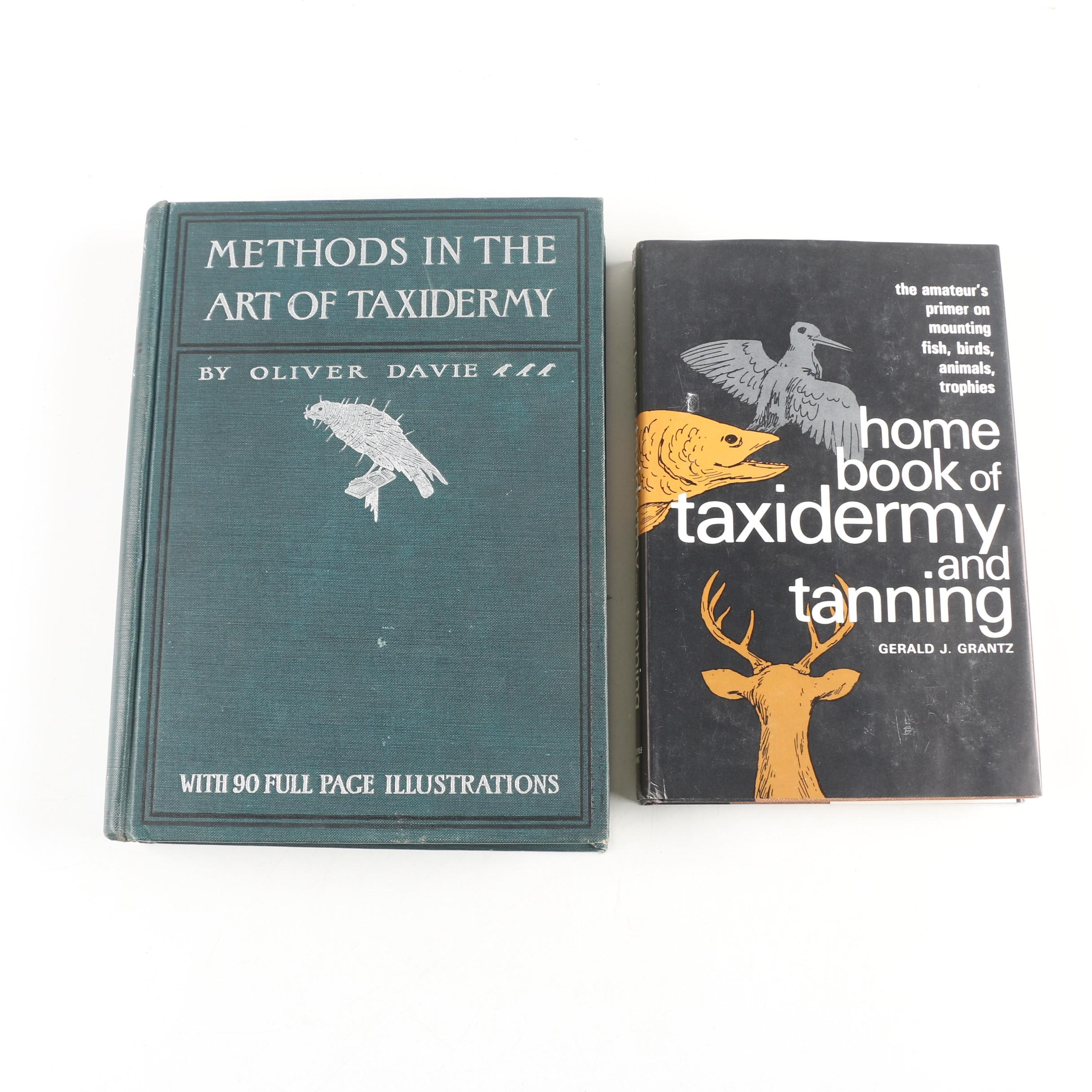 Vintage Taxidermy Books