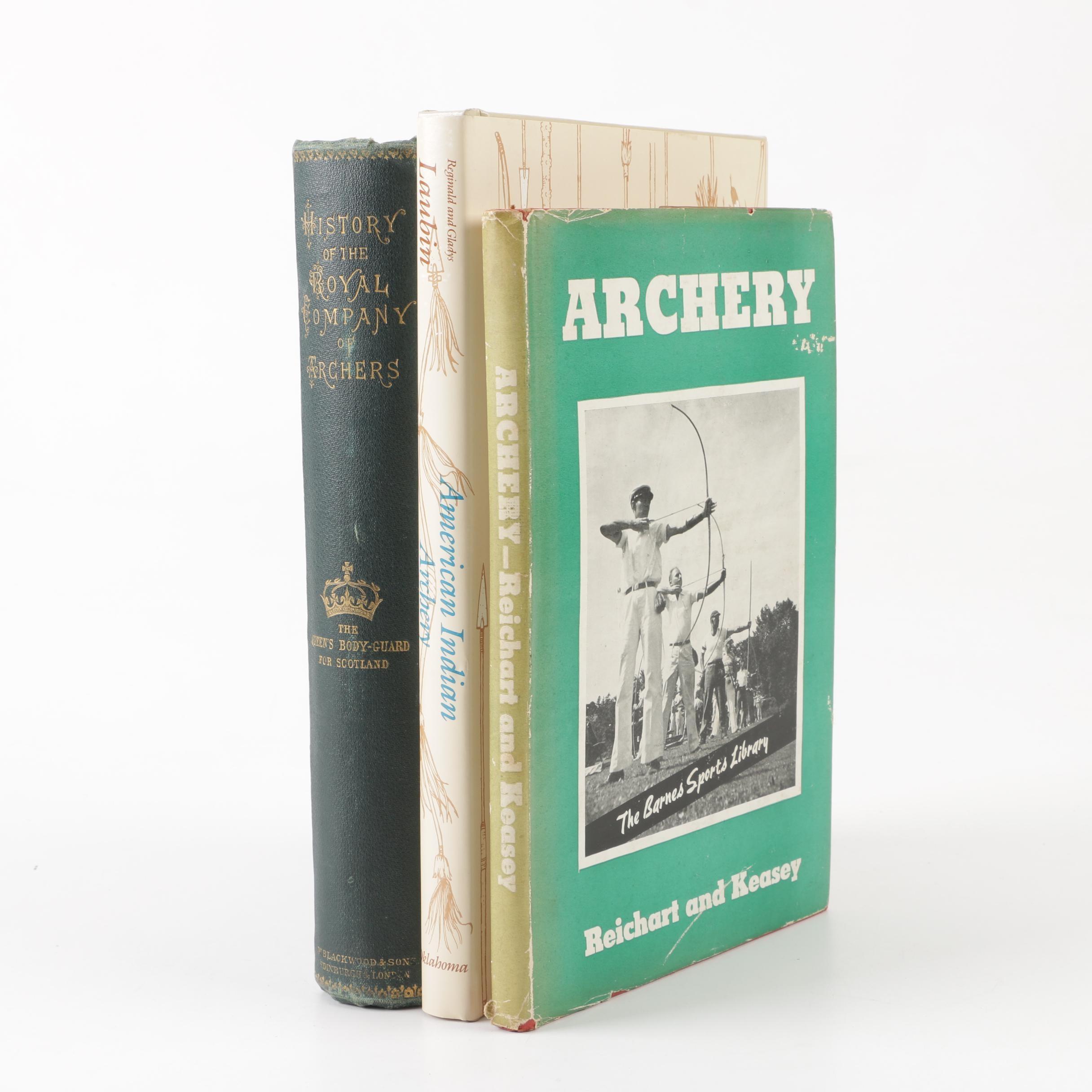 Vintage Archery Books
