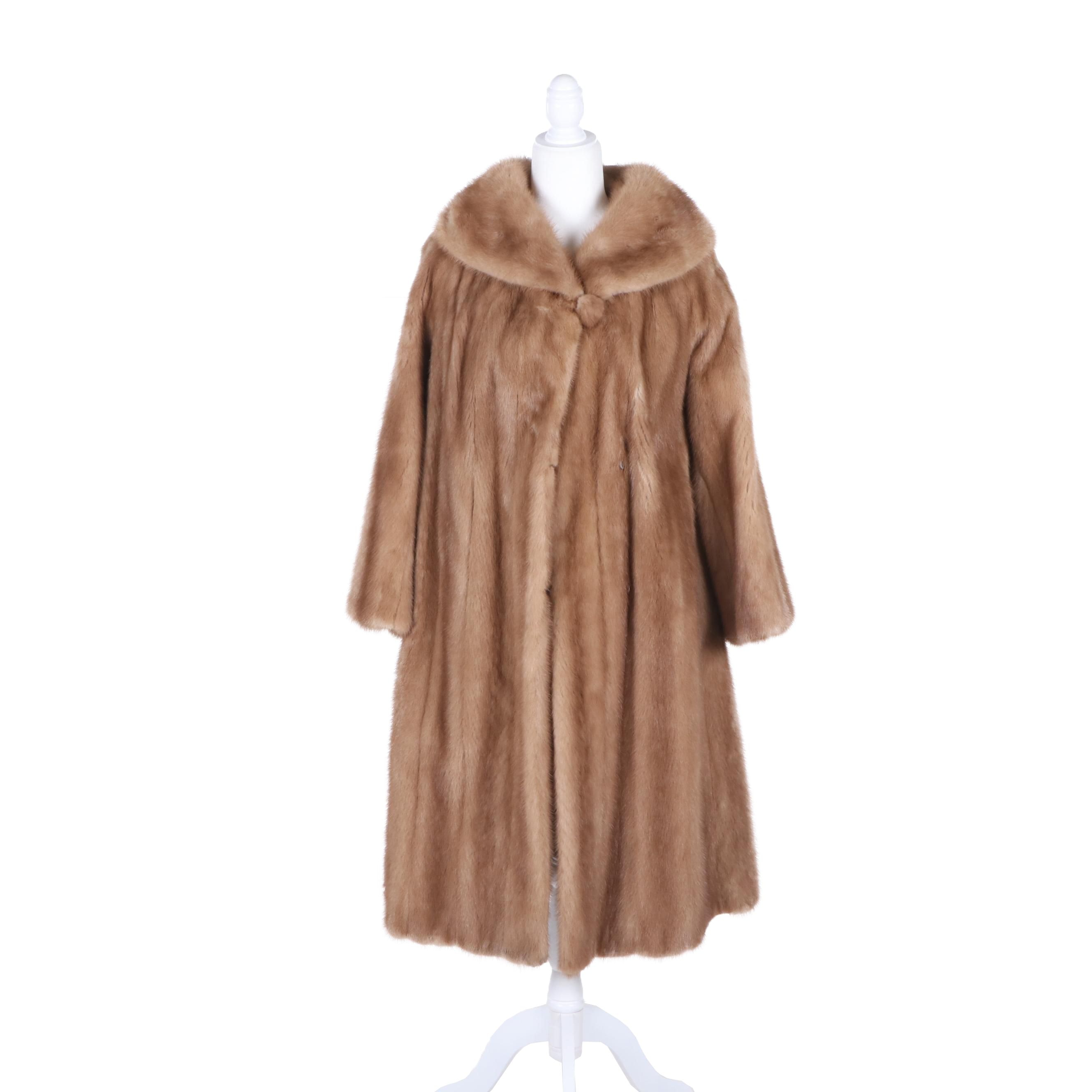Women's Voziou New York Mink Fur Coat