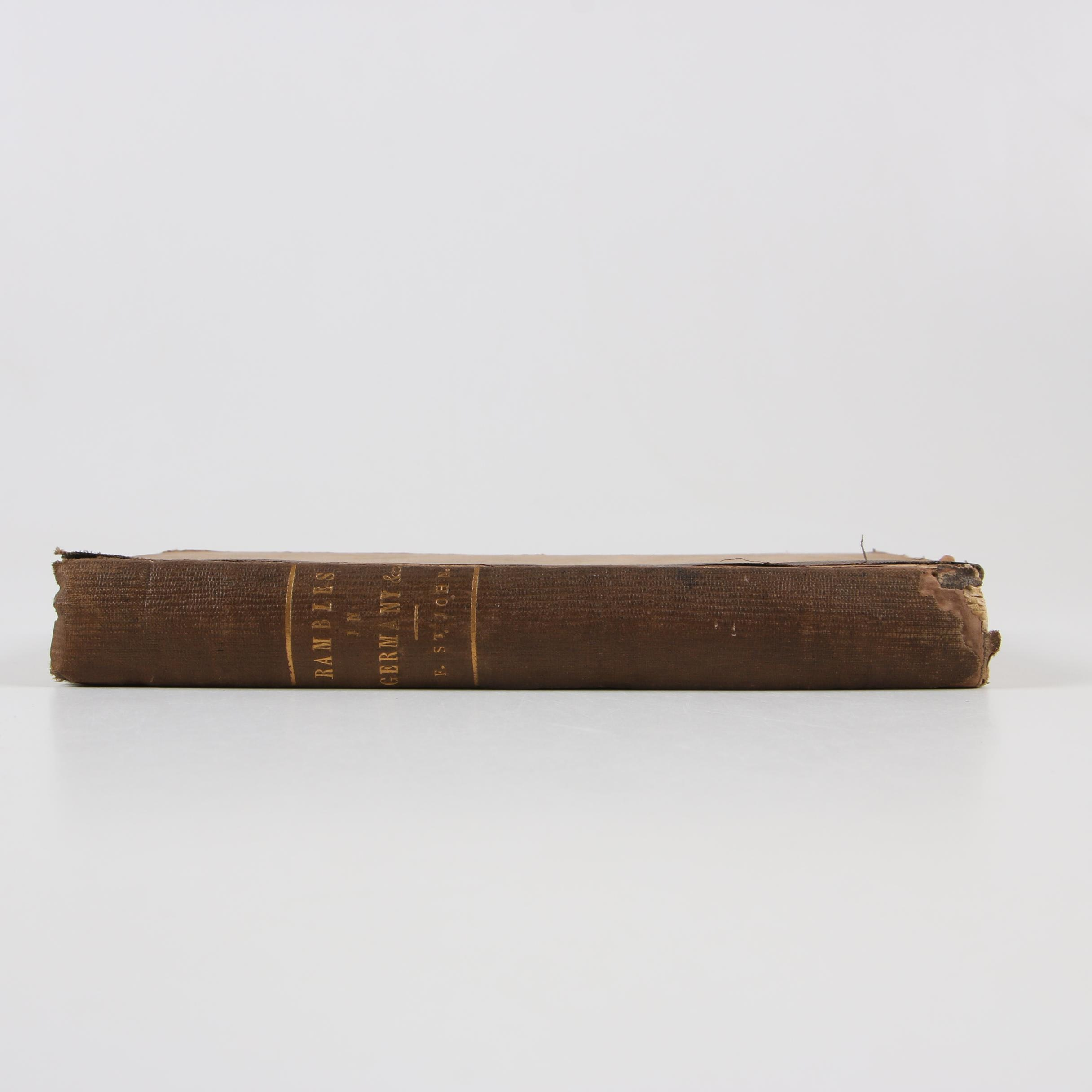 """Rambles in Germany, France, Italy, and Russia"" by Ferdinand St. John, 1853"