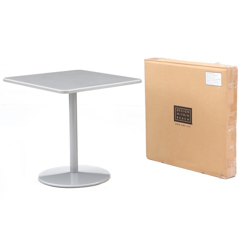 """""""Boulevard"""" Square Bistro Tables by Design Within Reach"""